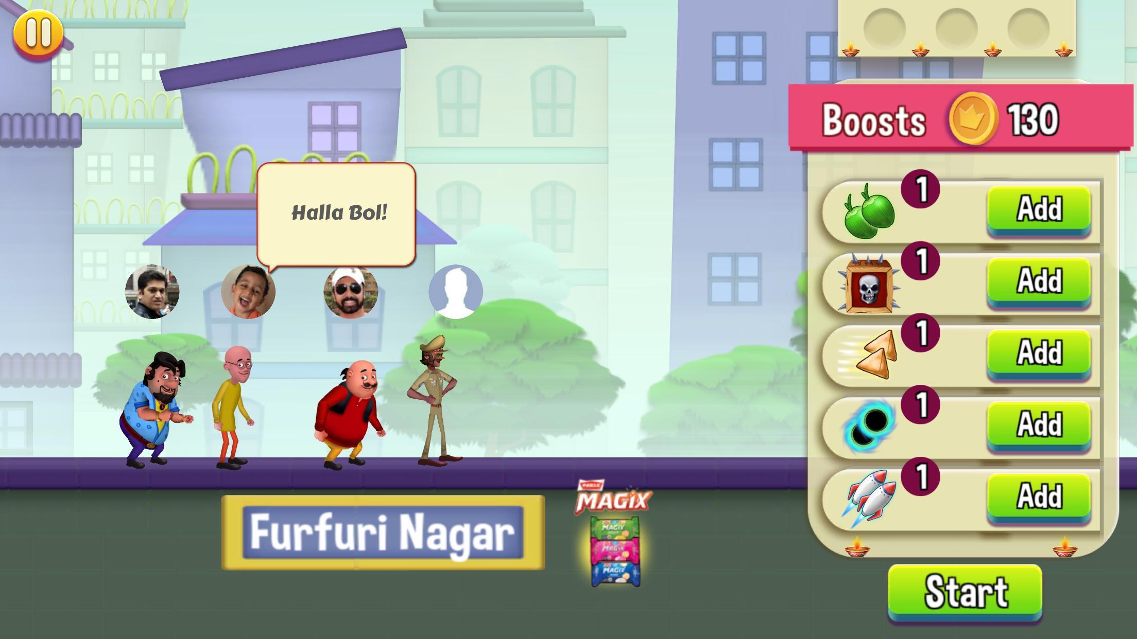 Motu Patlu Game 1.3 Screenshot 3