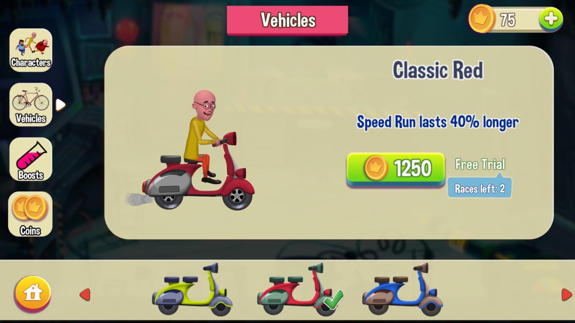 Motu Patlu Game 1.3 Screenshot 4