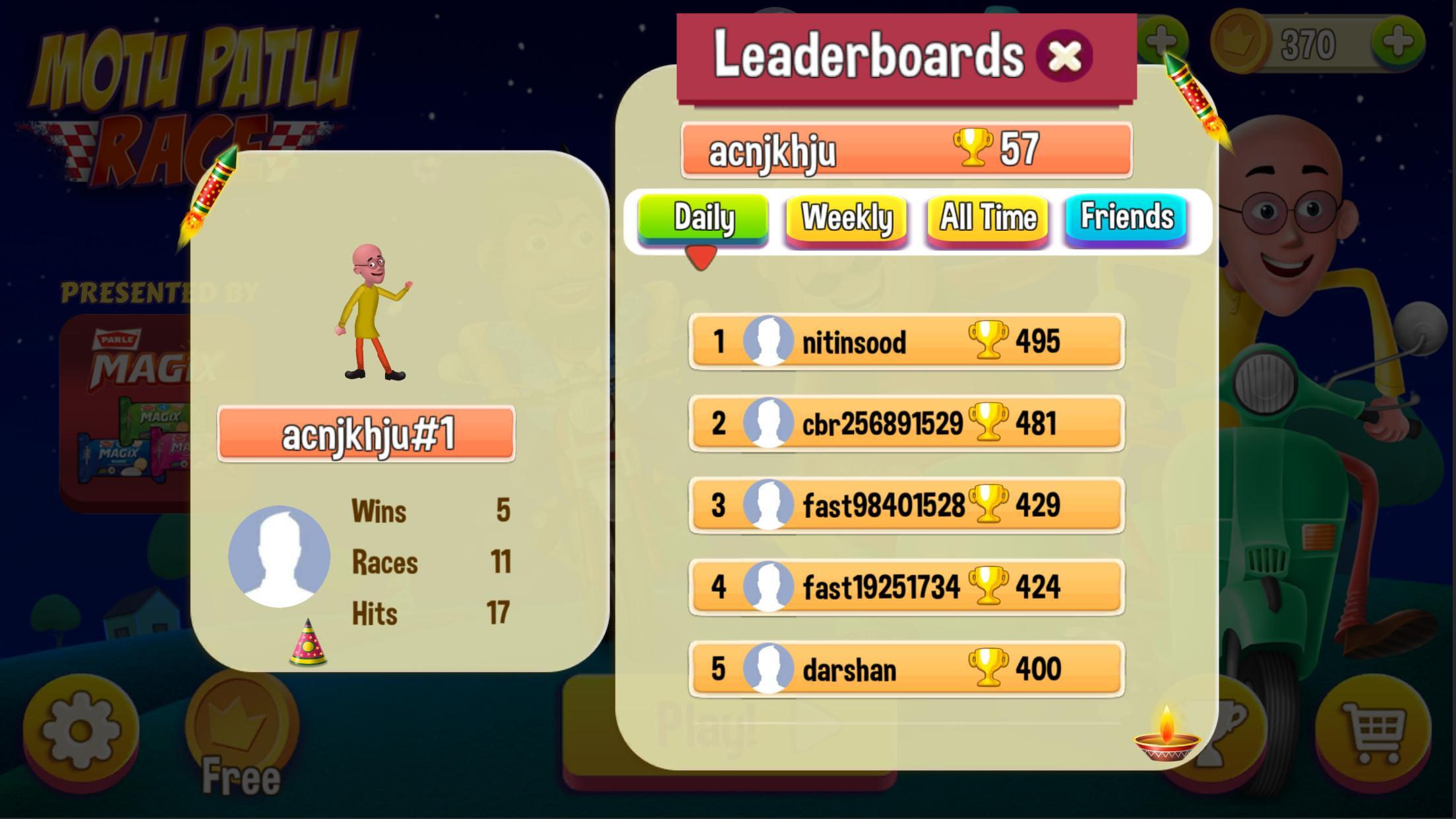 Motu Patlu Game 1.3 Screenshot 8