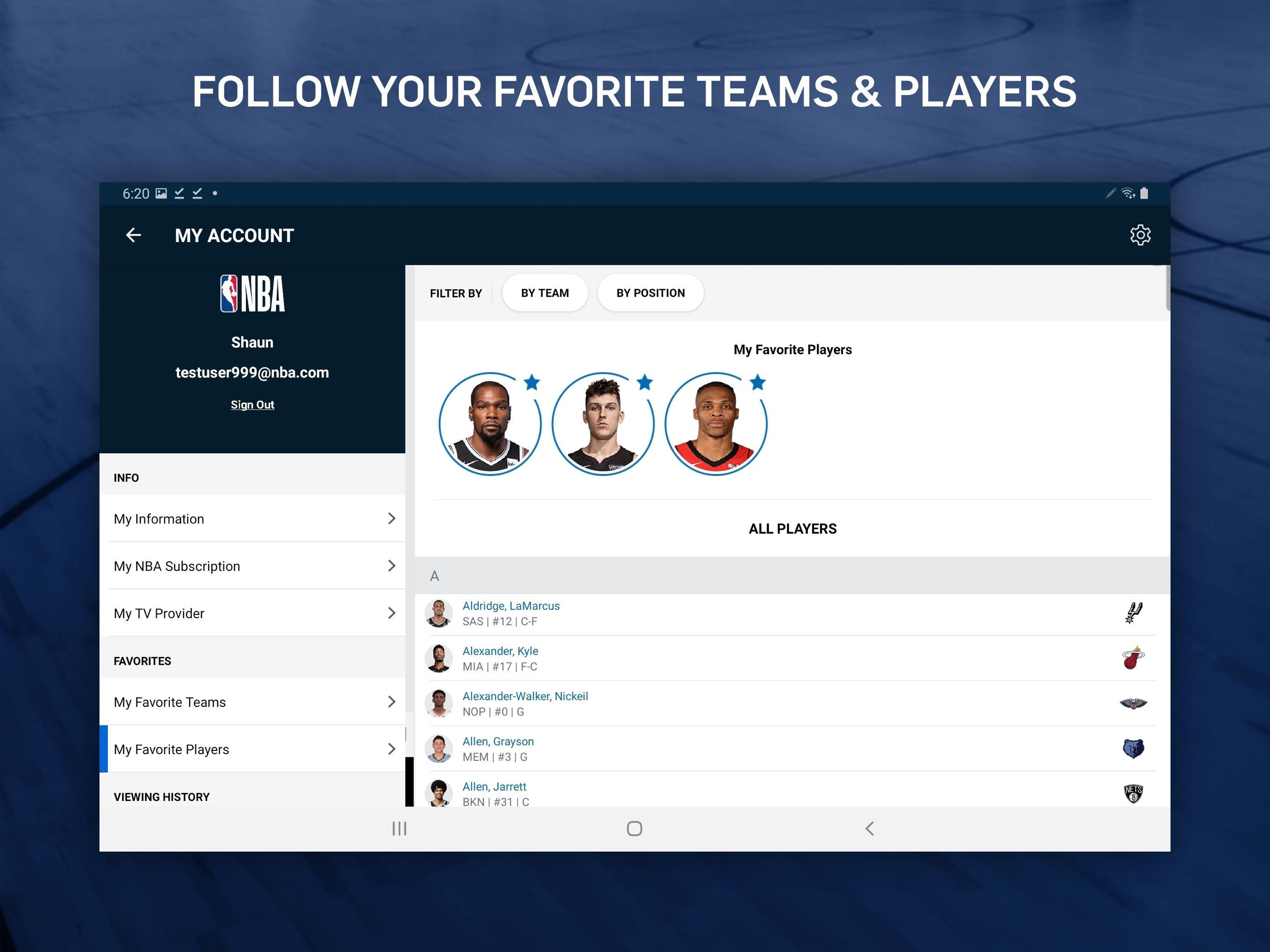 NBA Live Games & Scores 9.1018 Screenshot 10