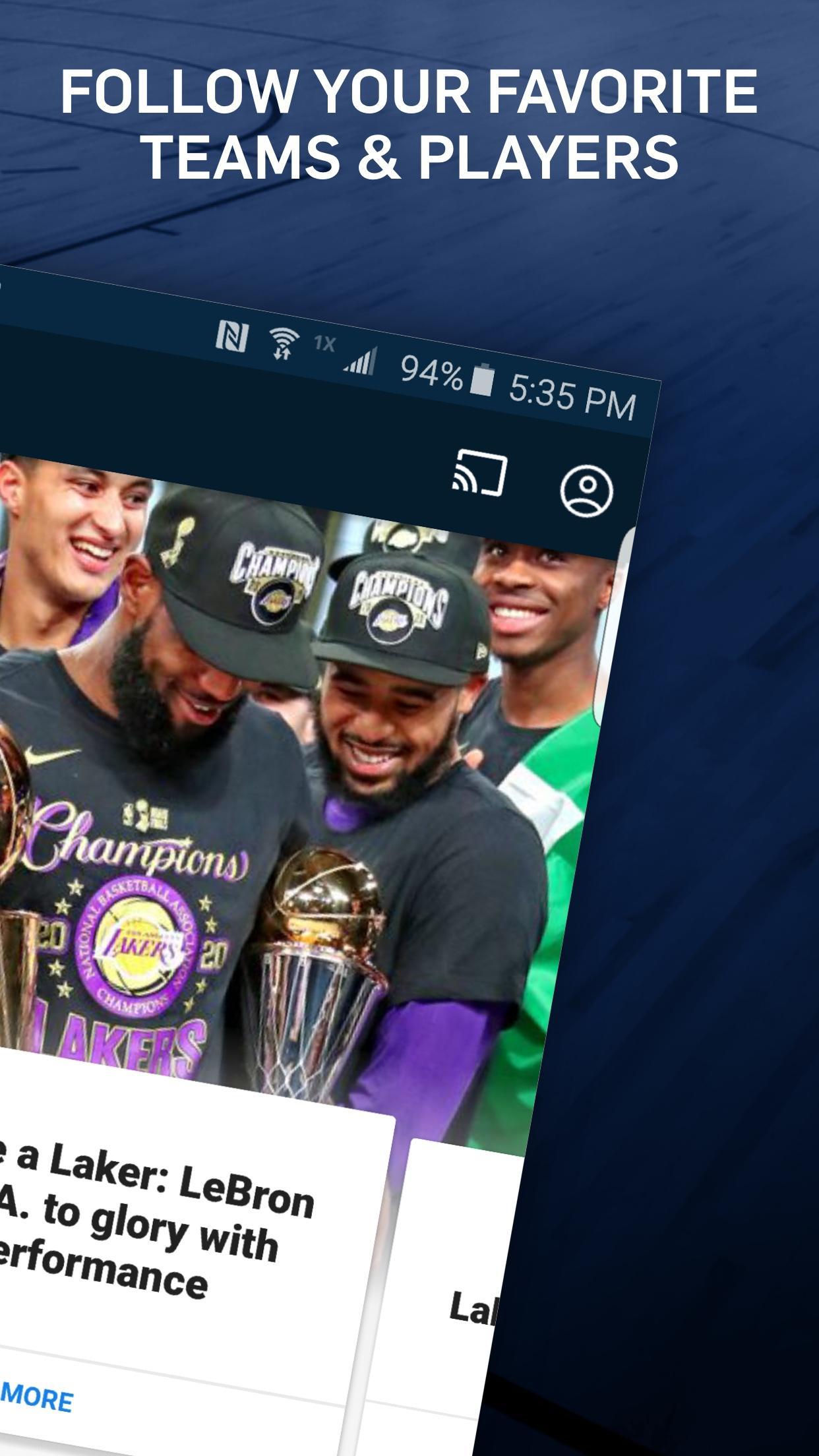 NBA Live Games & Scores 10.1103 Screenshot 2