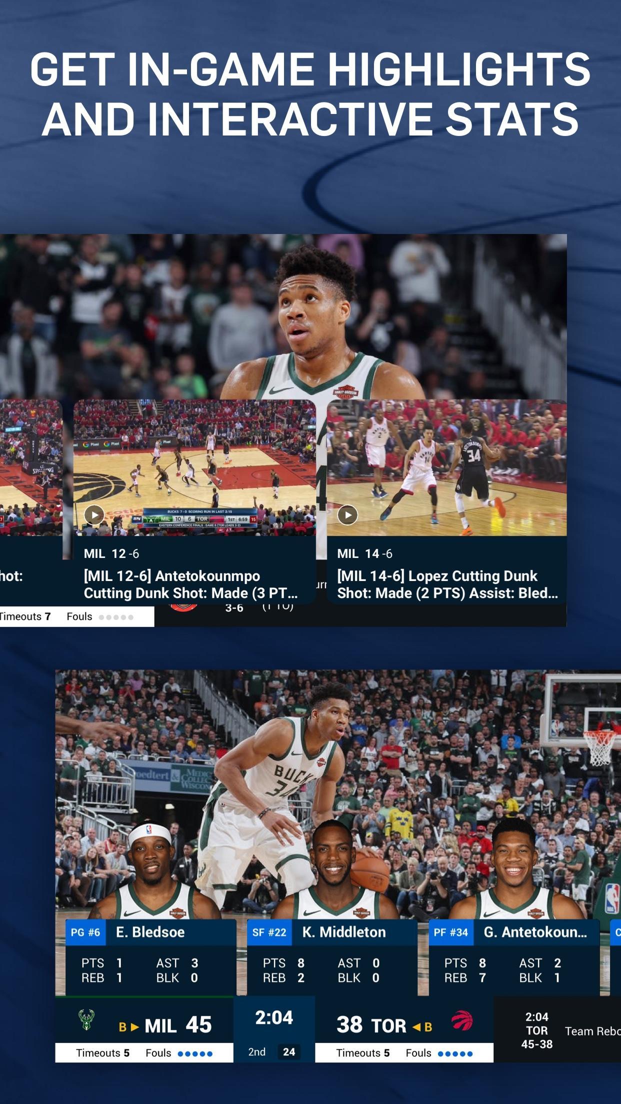 NBA Live Games & Scores 10.1103 Screenshot 4