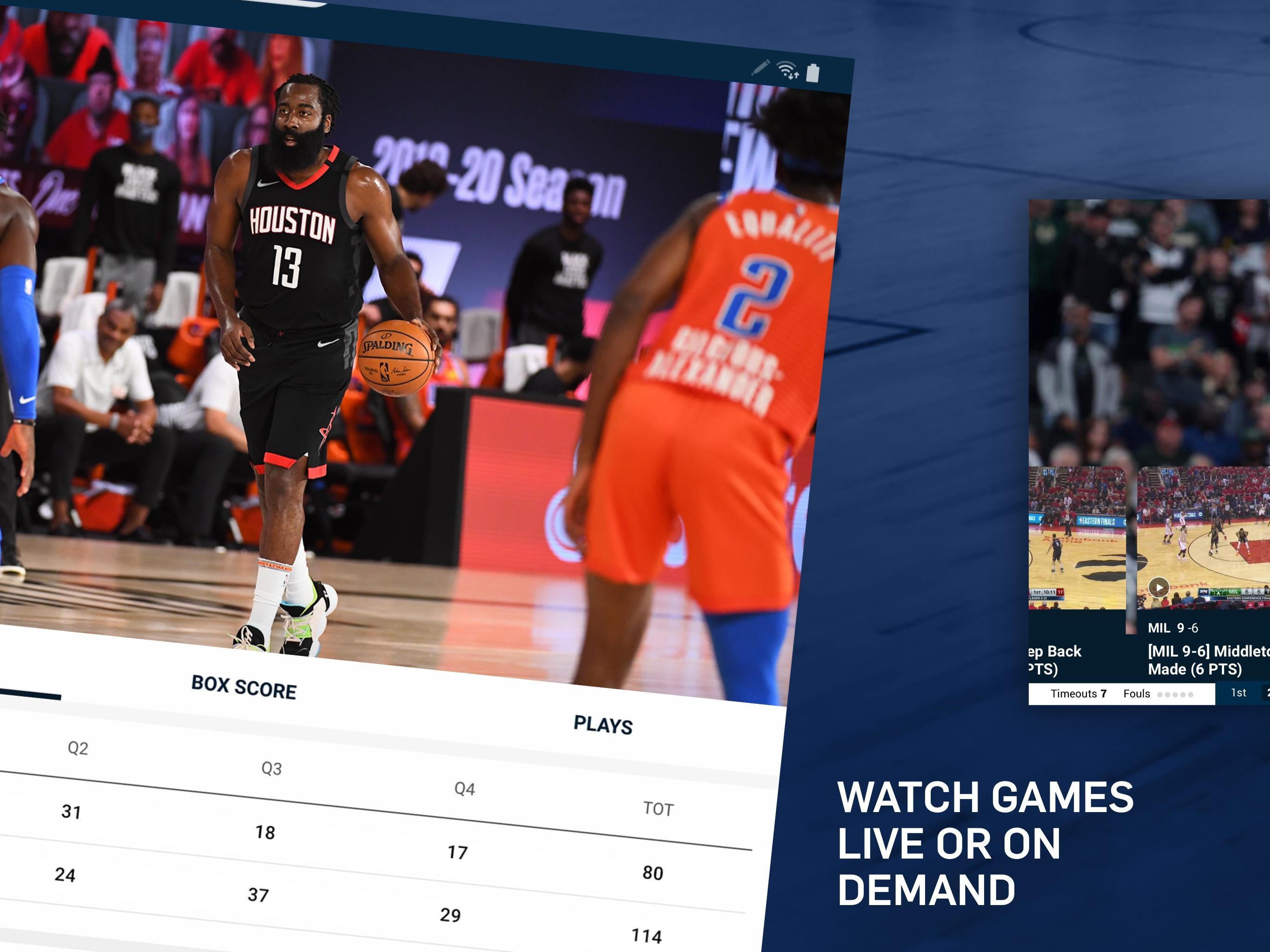 NBA Live Games & Scores 10.1103 Screenshot 8