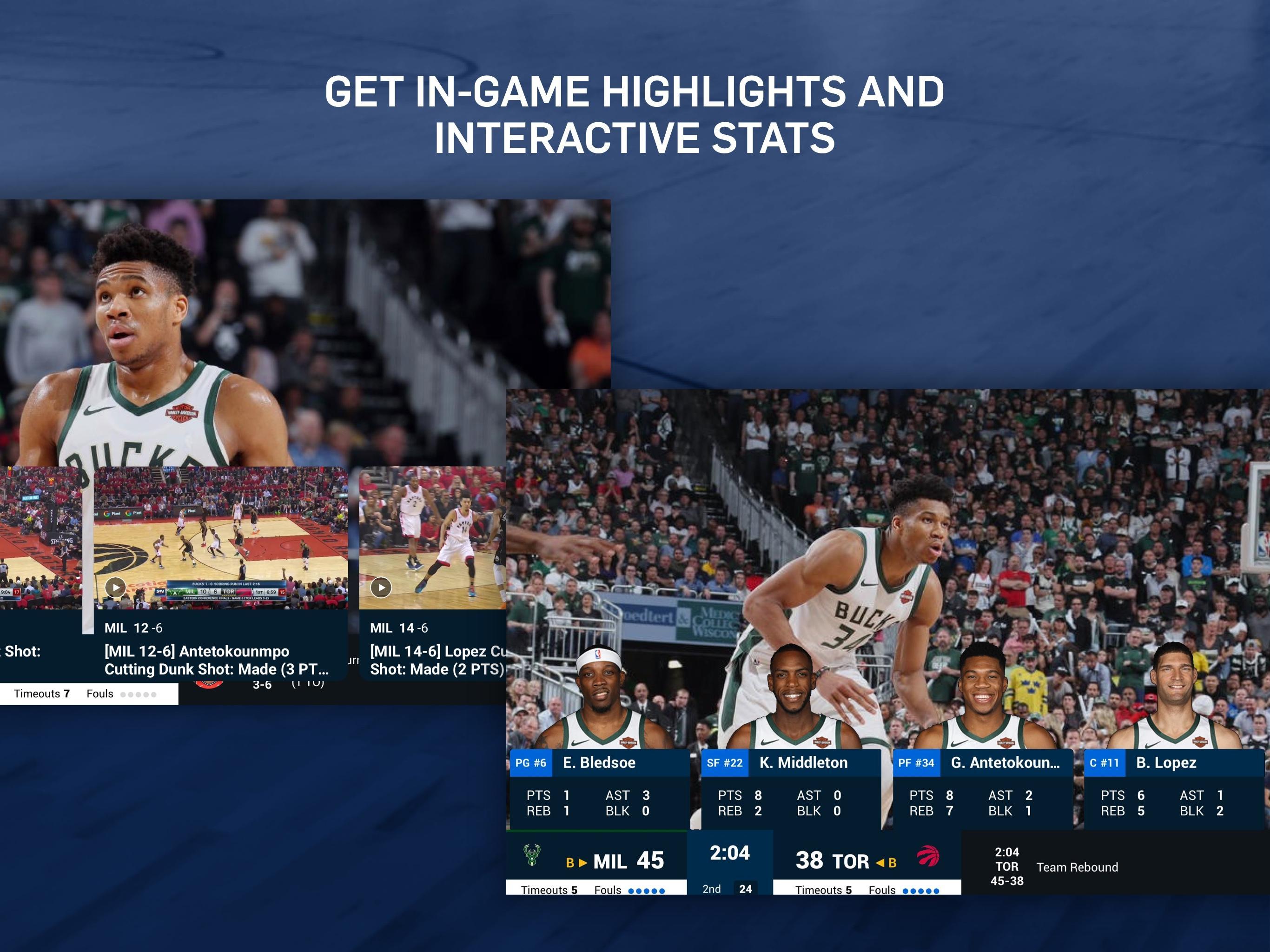 NBA Live Games & Scores 10.1103 Screenshot 9