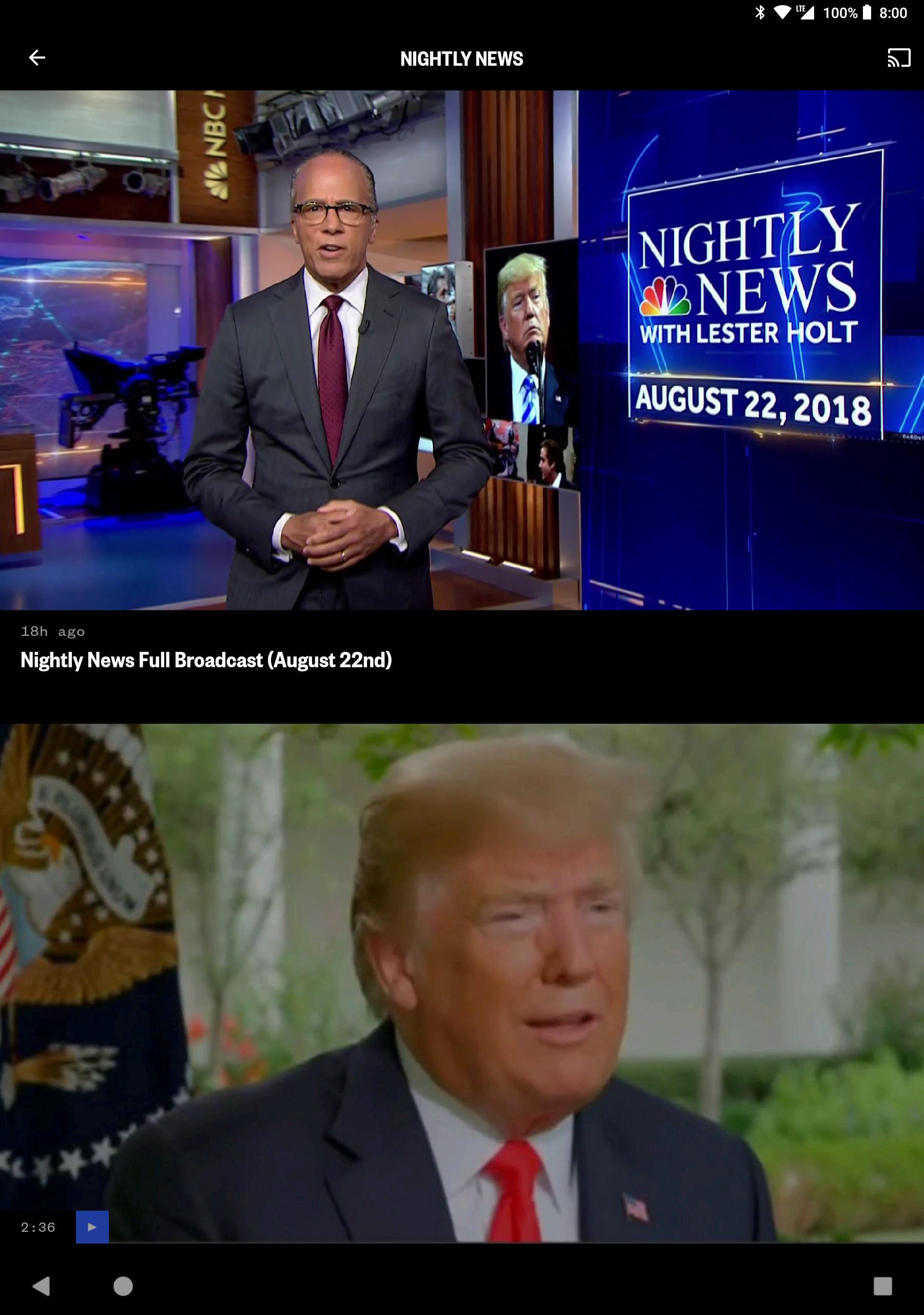 NBC News: Breaking News, US News & Live Video 6.0.11 Screenshot 10
