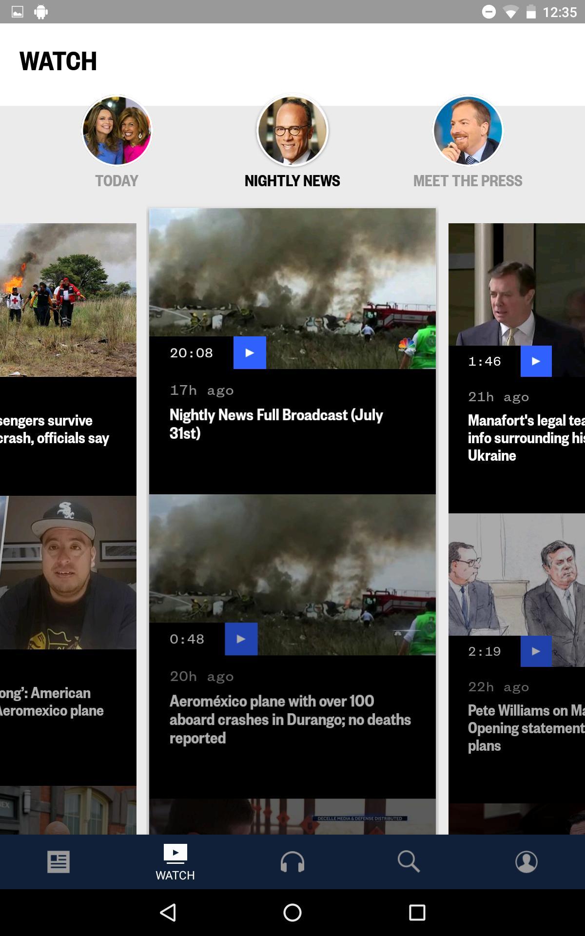 NBC News: Breaking News, US News & Live Video 6.0.11 Screenshot 13