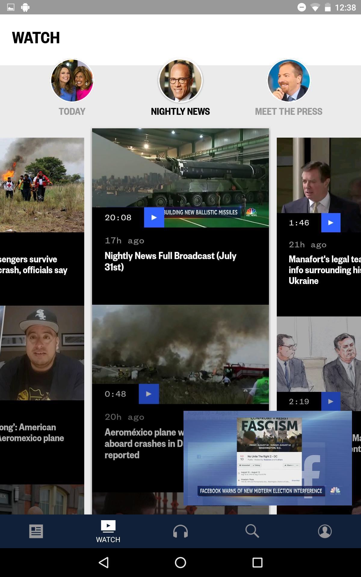 NBC News: Breaking News, US News & Live Video 6.0.11 Screenshot 17