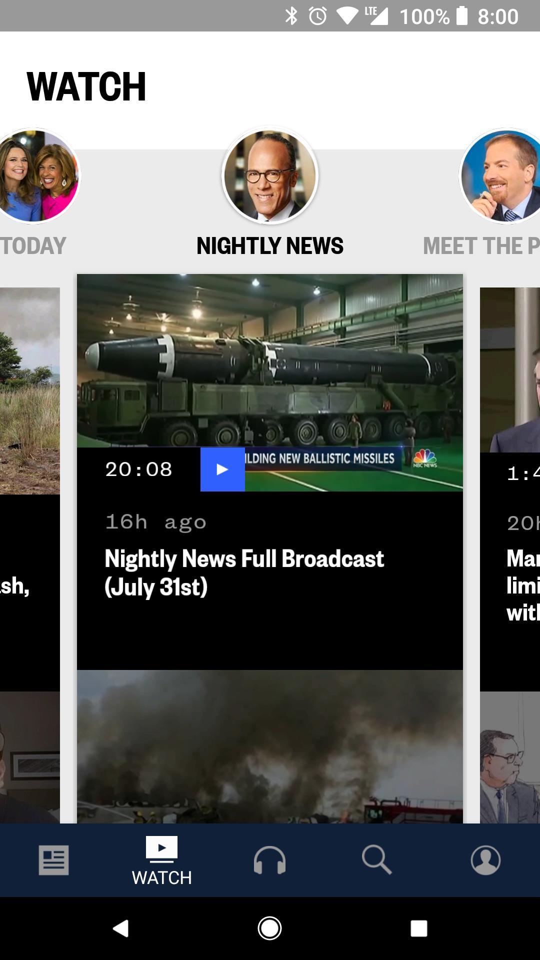 NBC News: Breaking News, US News & Live Video 6.0.11 Screenshot 2