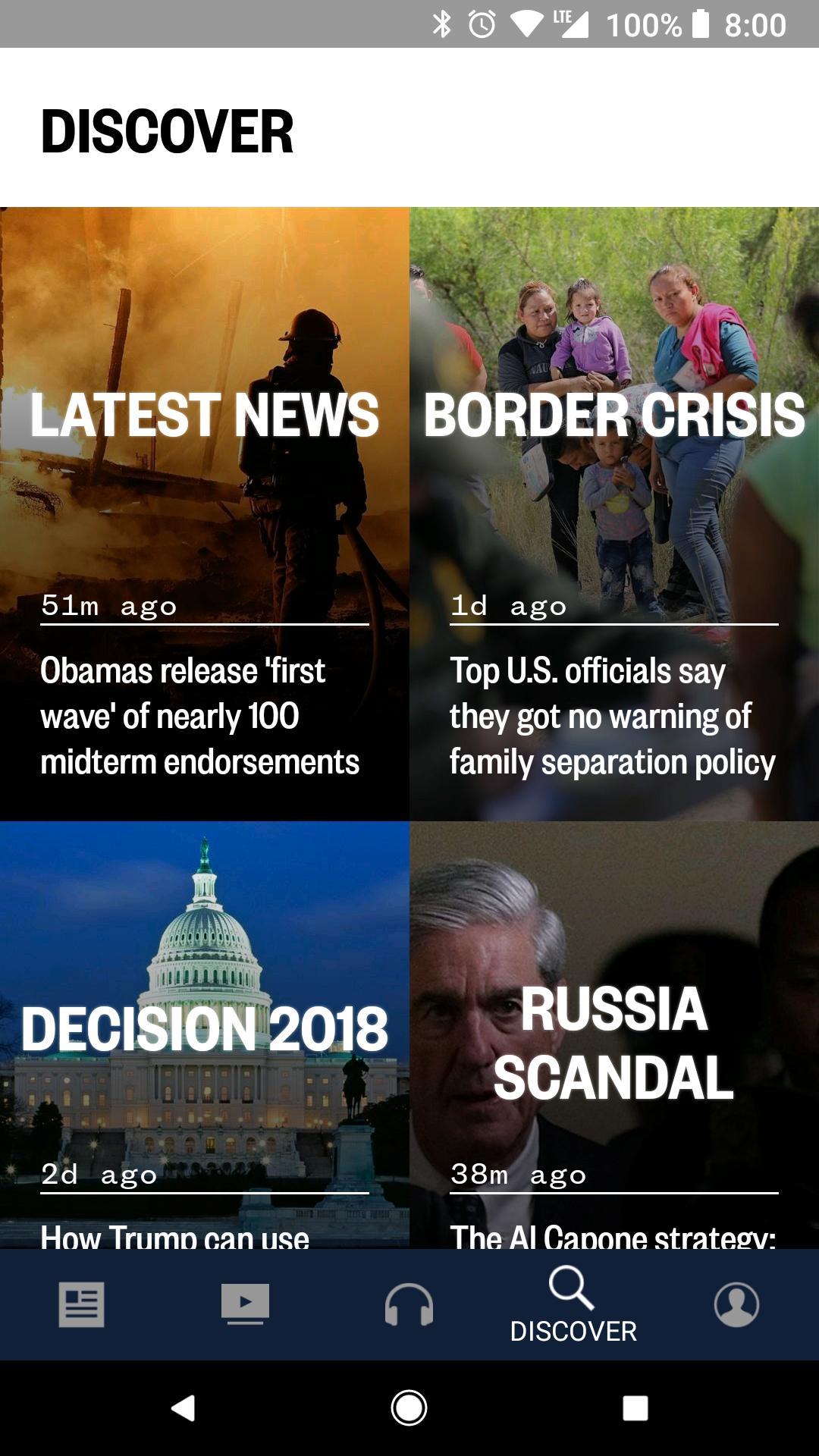 NBC News: Breaking News, US News & Live Video 6.0.11 Screenshot 4