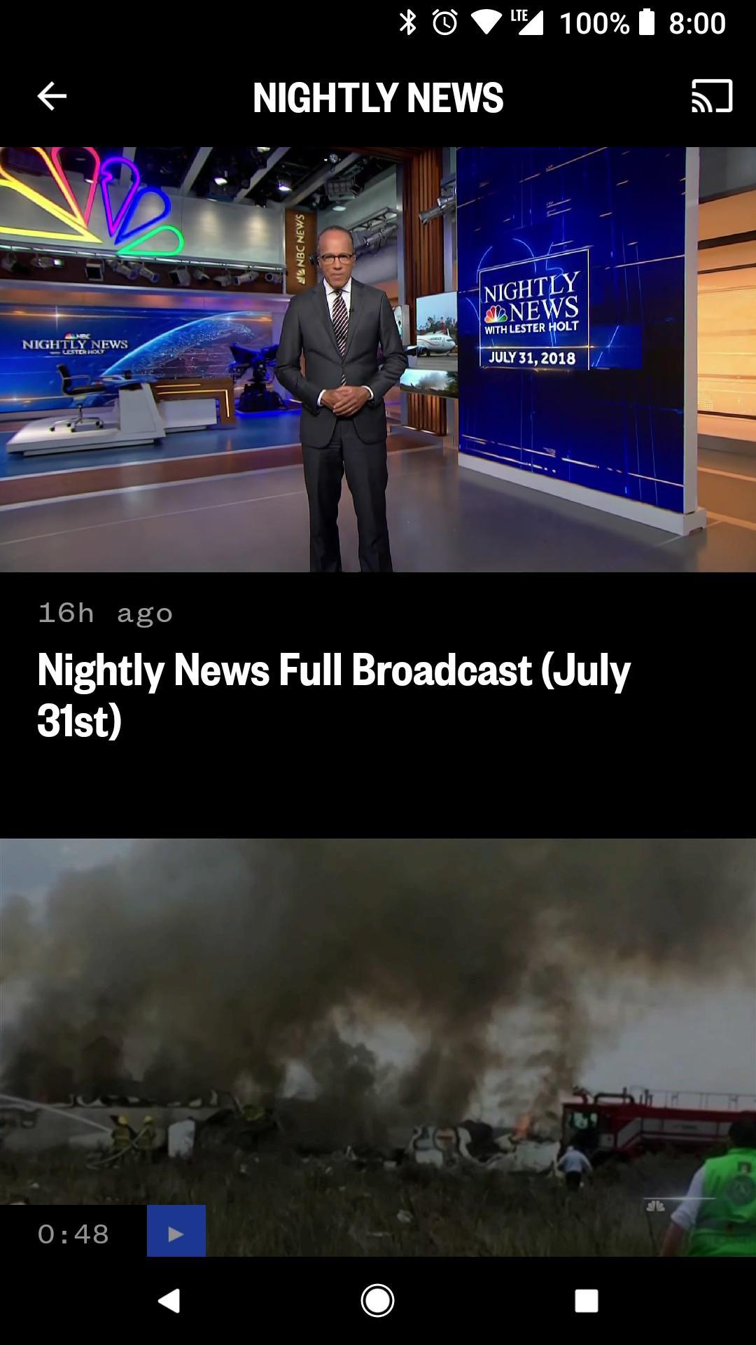 NBC News: Breaking News, US News & Live Video 6.0.11 Screenshot 5