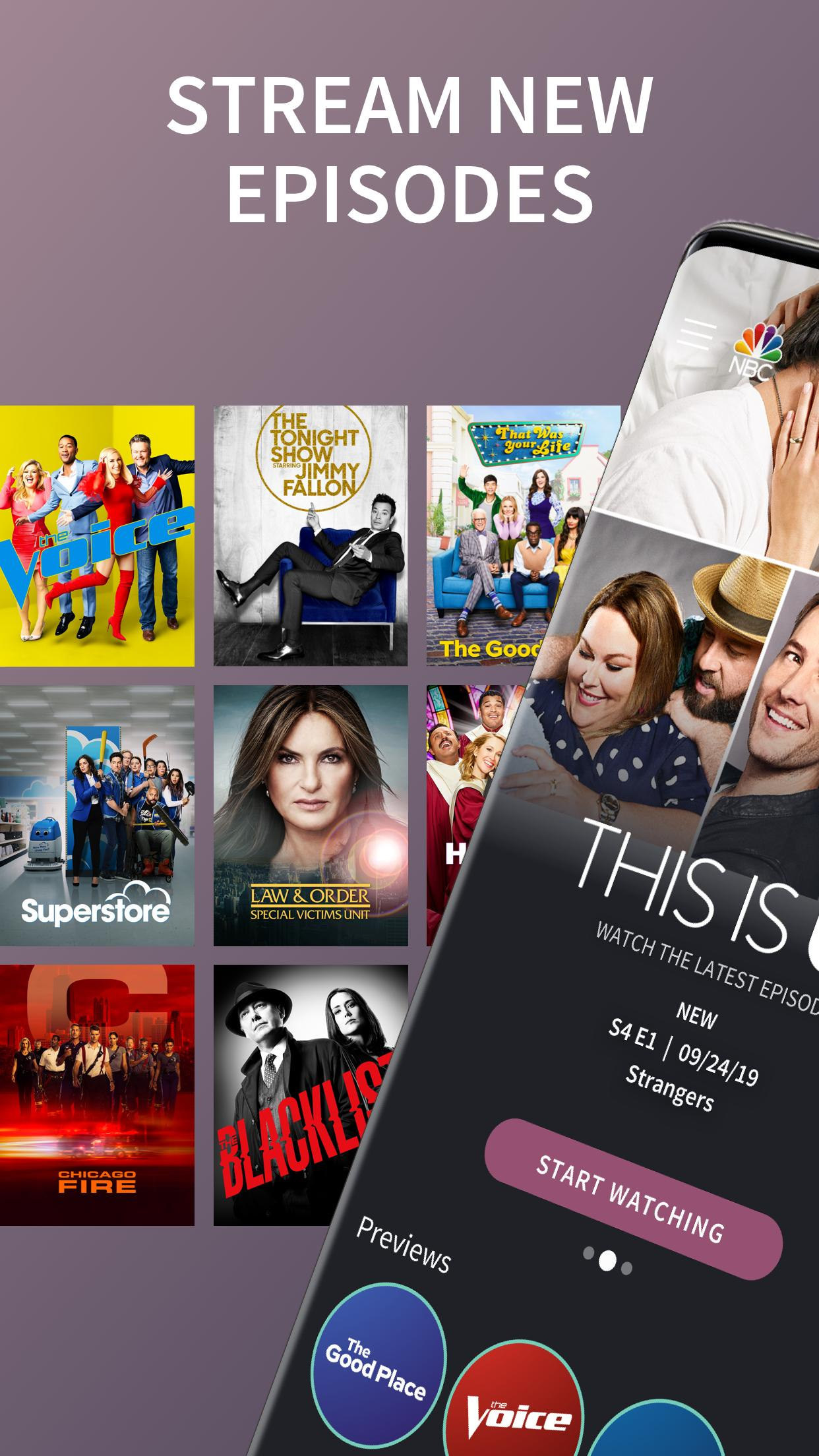 The NBC App - Stream Live TV and Episodes for Free 7.4.1 Screenshot 1