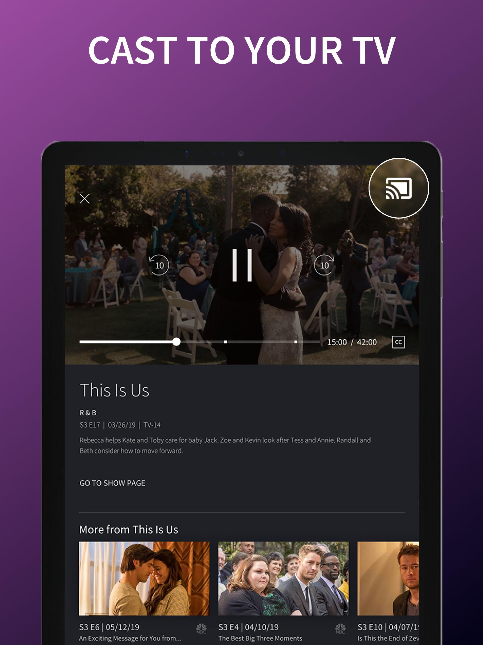 The NBC App - Stream Live TV and Episodes for Free 7.4.1 Screenshot 10