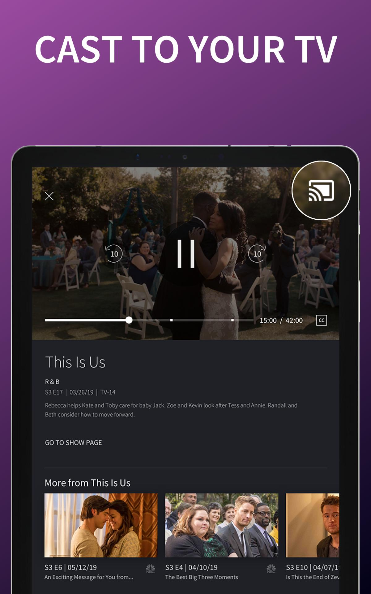 The NBC App - Stream Live TV and Episodes for Free 7.4.1 Screenshot 15
