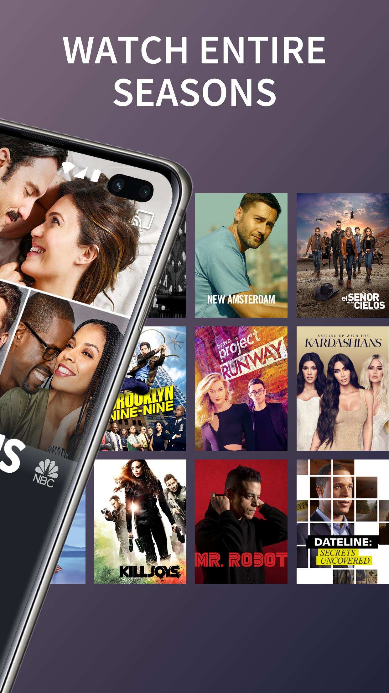 The NBC App - Stream Live TV and Episodes for Free 7.4.1 Screenshot 2