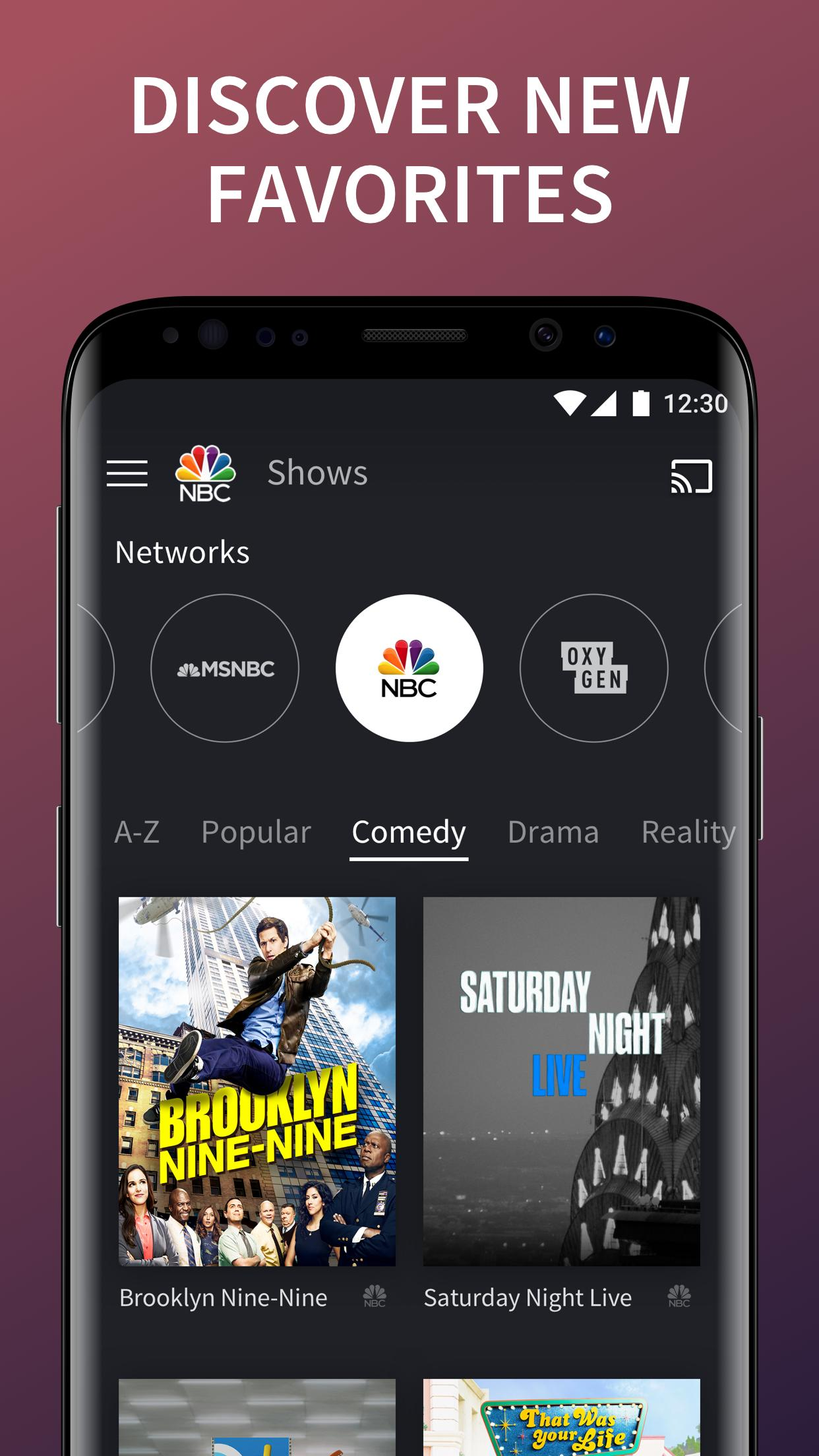 The NBC App - Stream Live TV and Episodes for Free 7.4.1 Screenshot 3