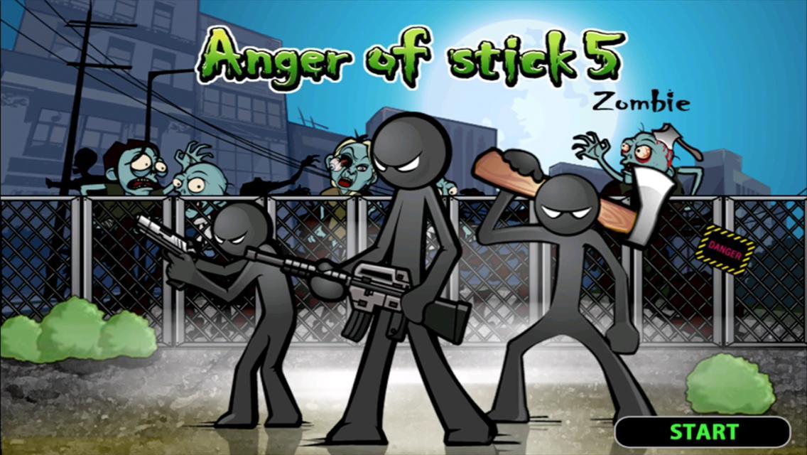 Anger of stick 5 : zombie 1.1.33 Screenshot 1