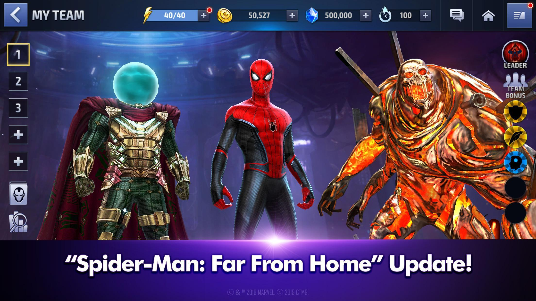 MARVEL Future Fight 5.3.0 Screenshot 1