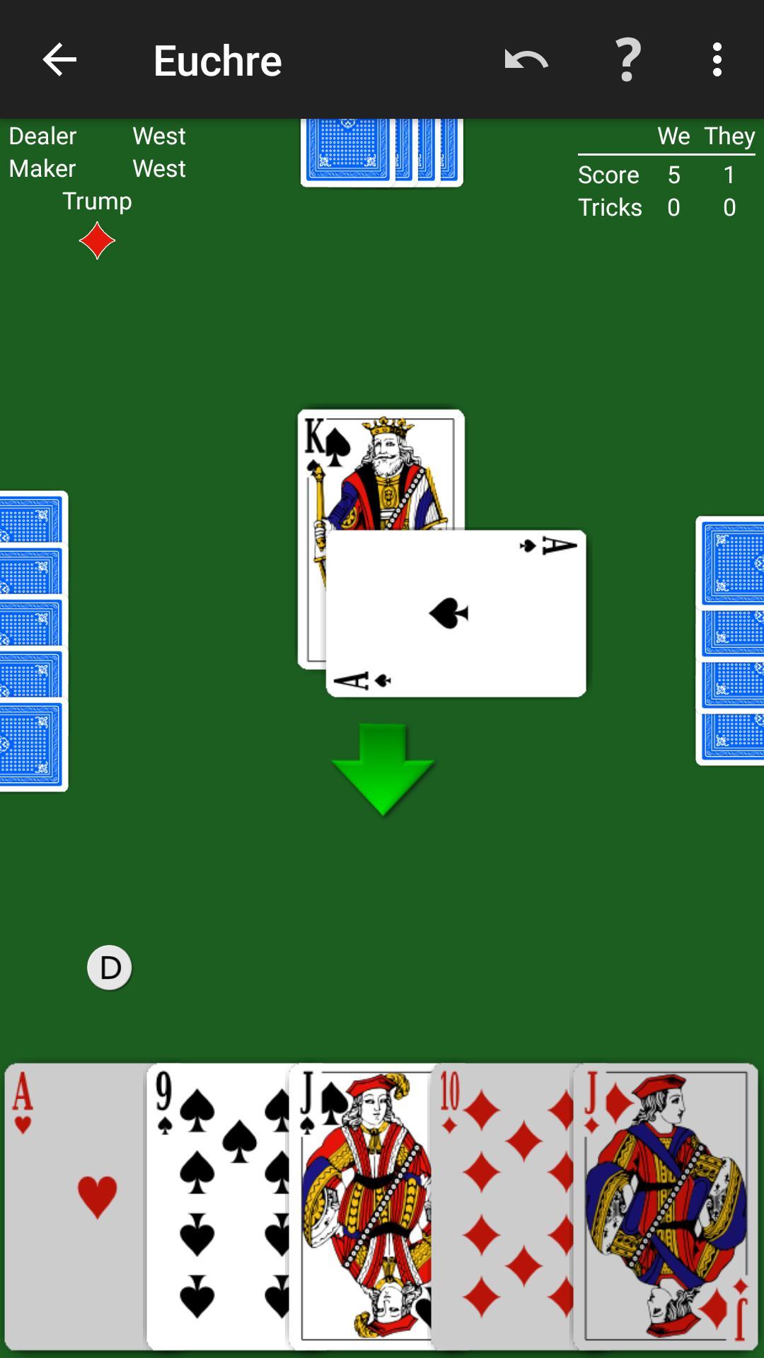 Euchre by NeuralPlay 2.50 Screenshot 1