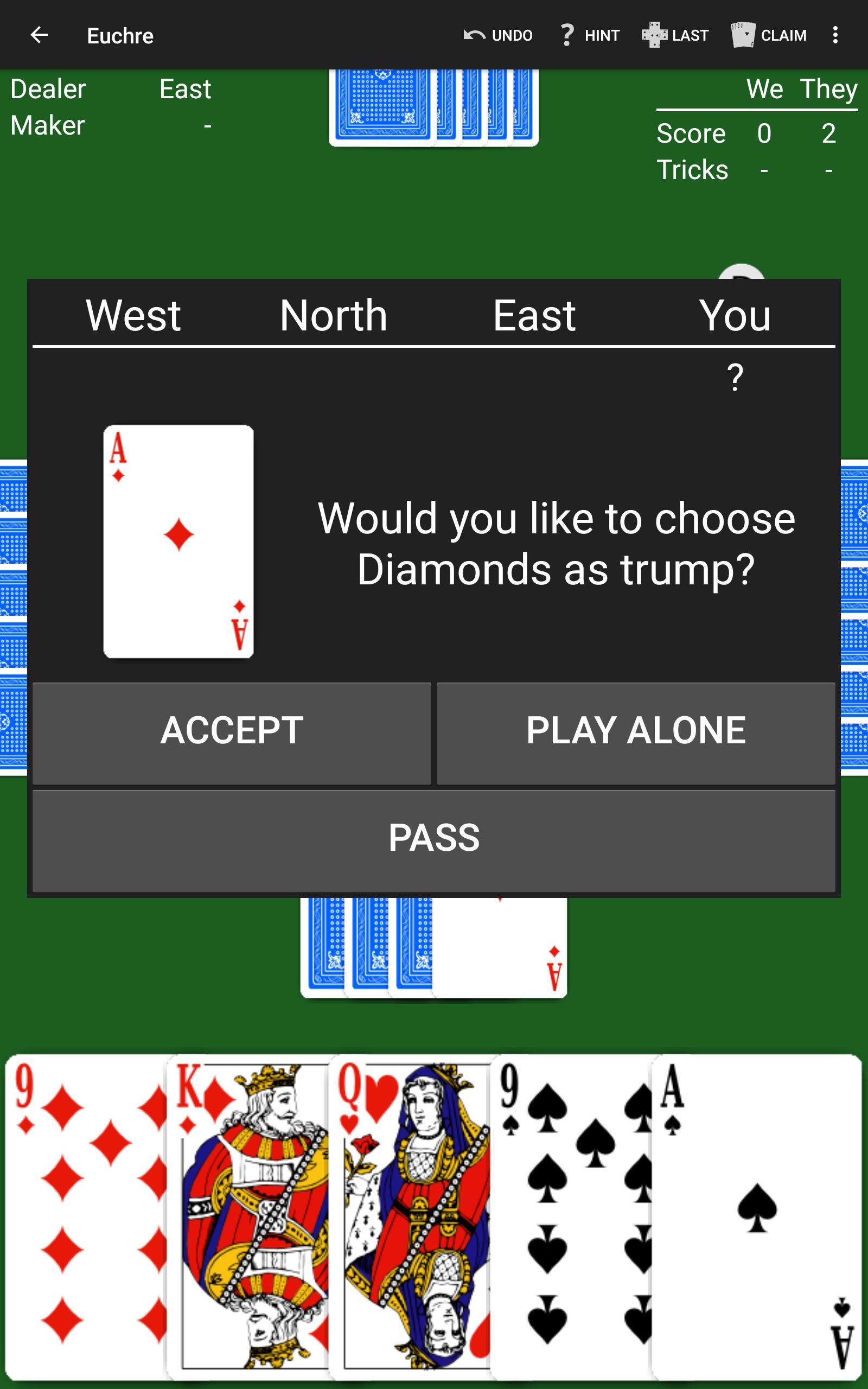 Euchre by NeuralPlay 2.50 Screenshot 10