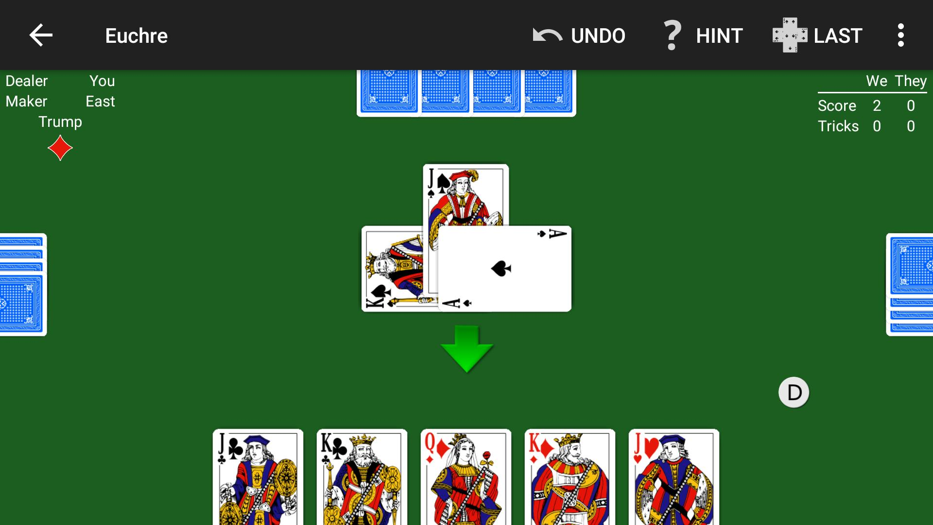 Euchre by NeuralPlay 2.50 Screenshot 5