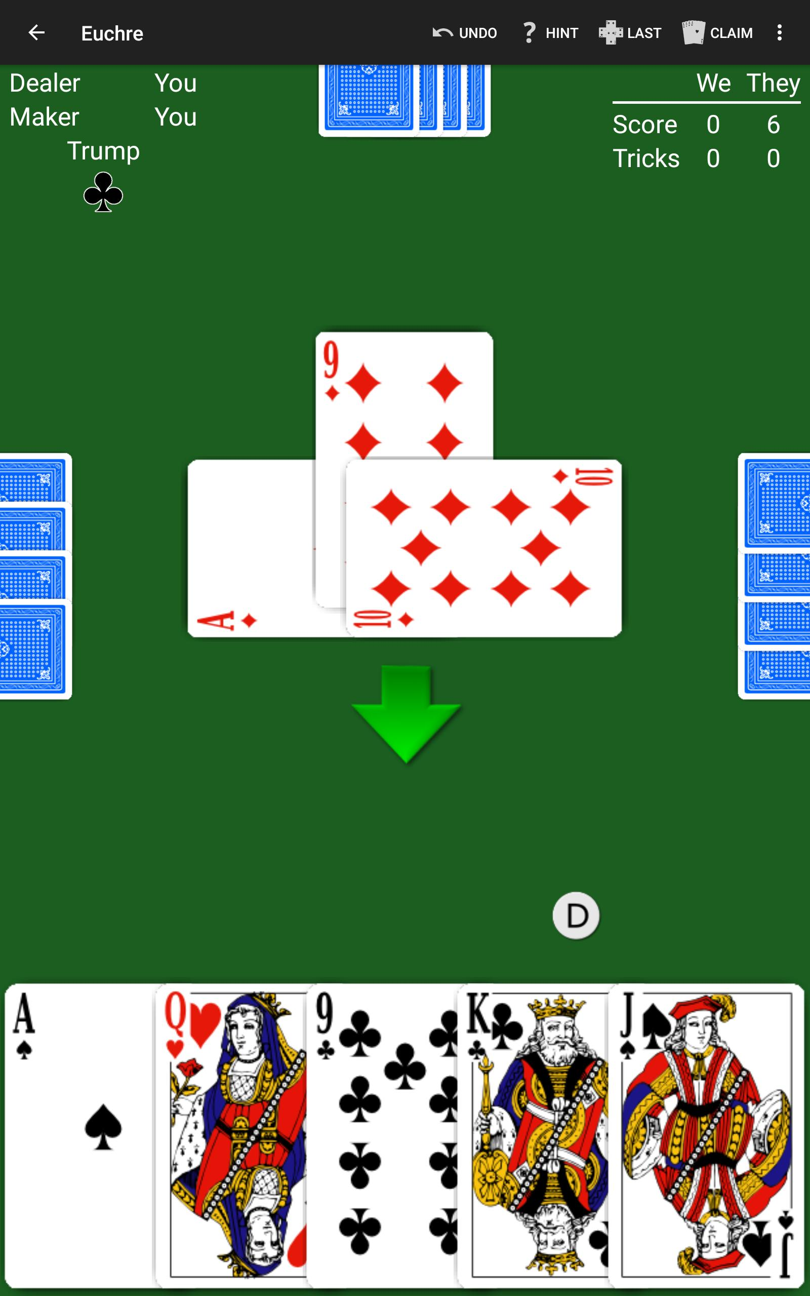 Euchre by NeuralPlay 2.50 Screenshot 8