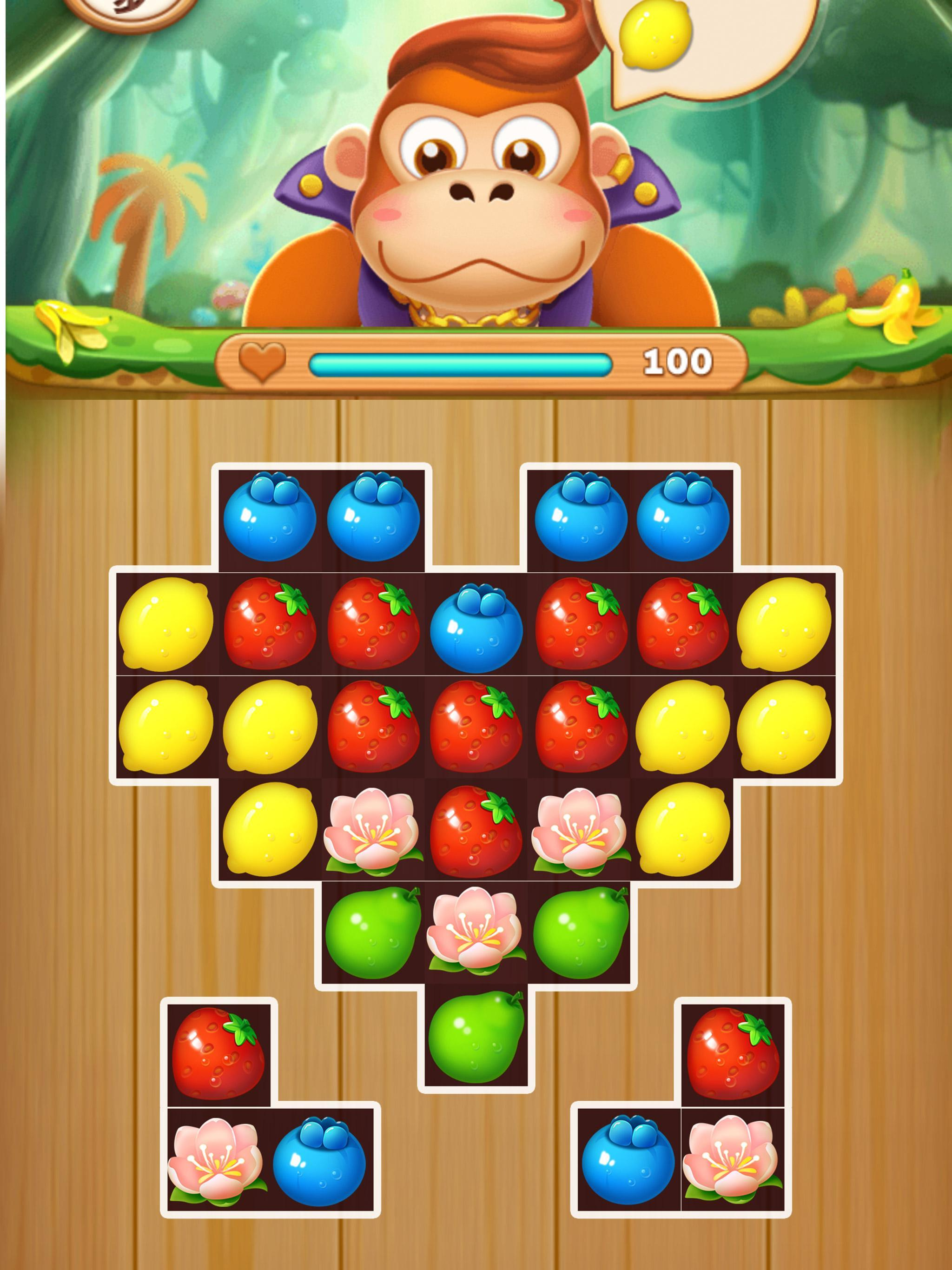Fruit Fever-best match3 puzzle game 1.0.1 Screenshot 2