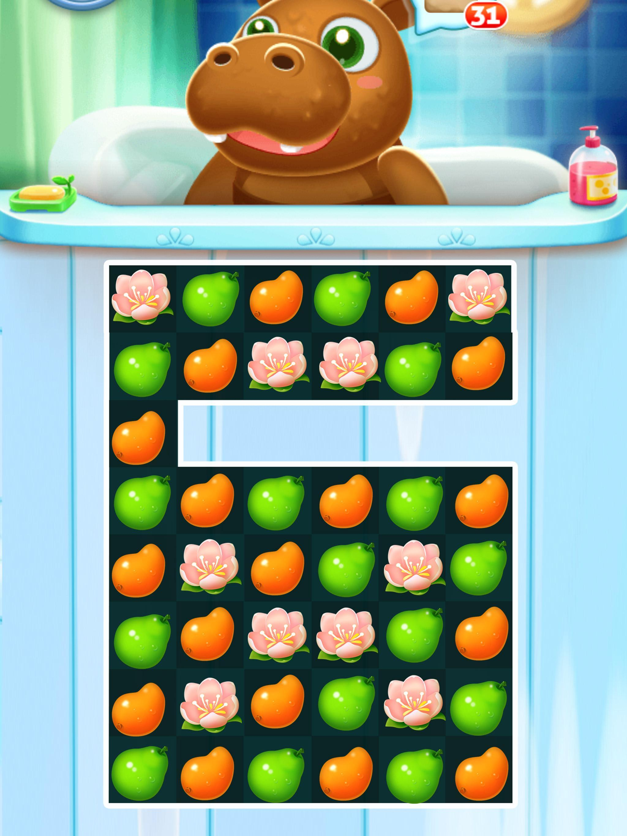 Fruit Fever-best match3 puzzle game 1.0.1 Screenshot 3