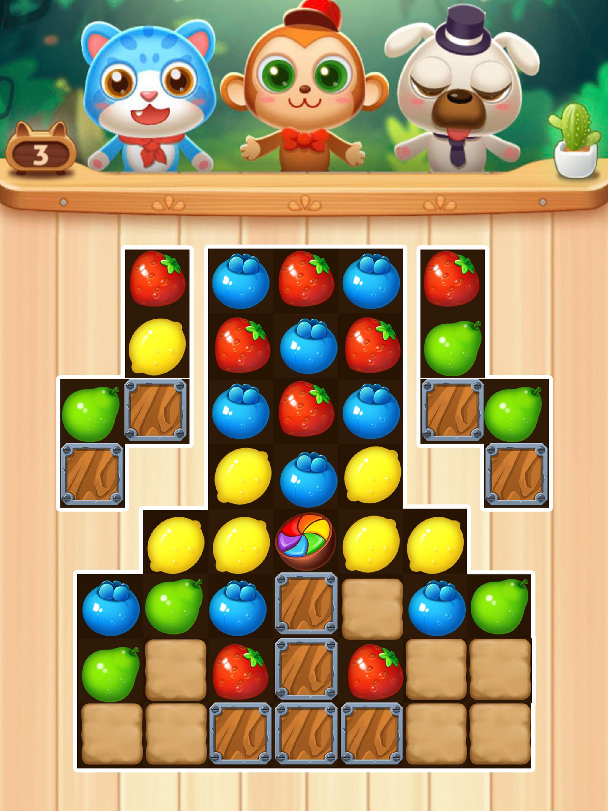 Fruit Fever-best match3 puzzle game 1.0.1 Screenshot 5