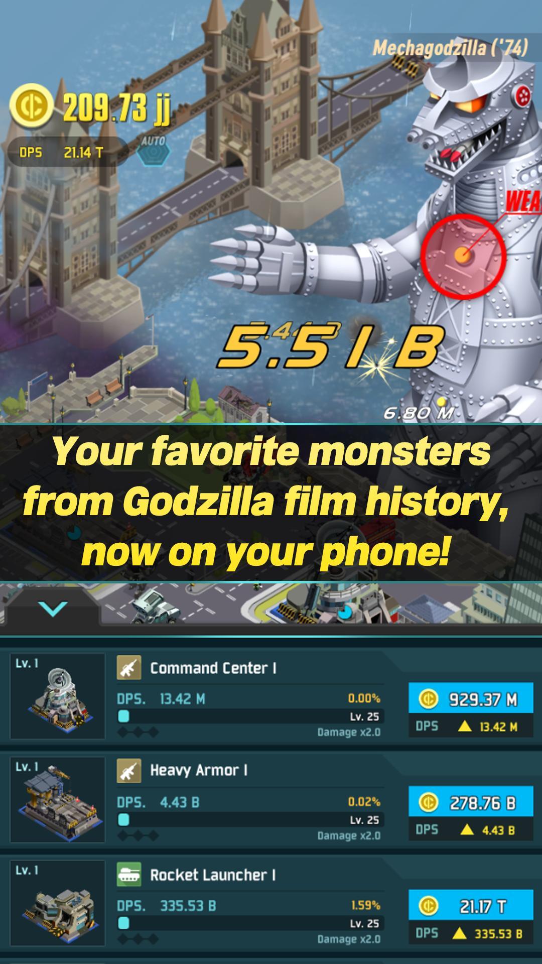Godzilla Defense Force 2.3.3 Screenshot 5
