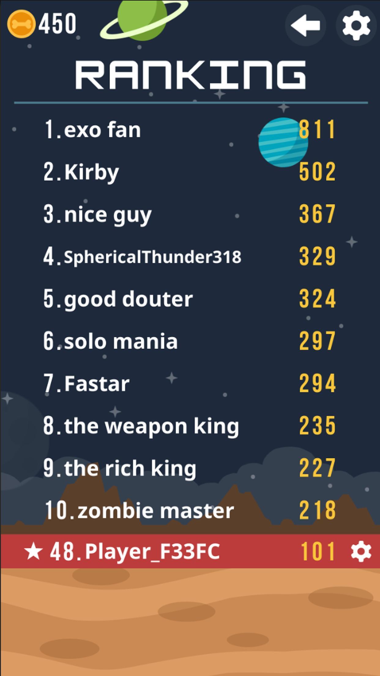 Space Corgi Dog jumping space travel game 27 Screenshot 4