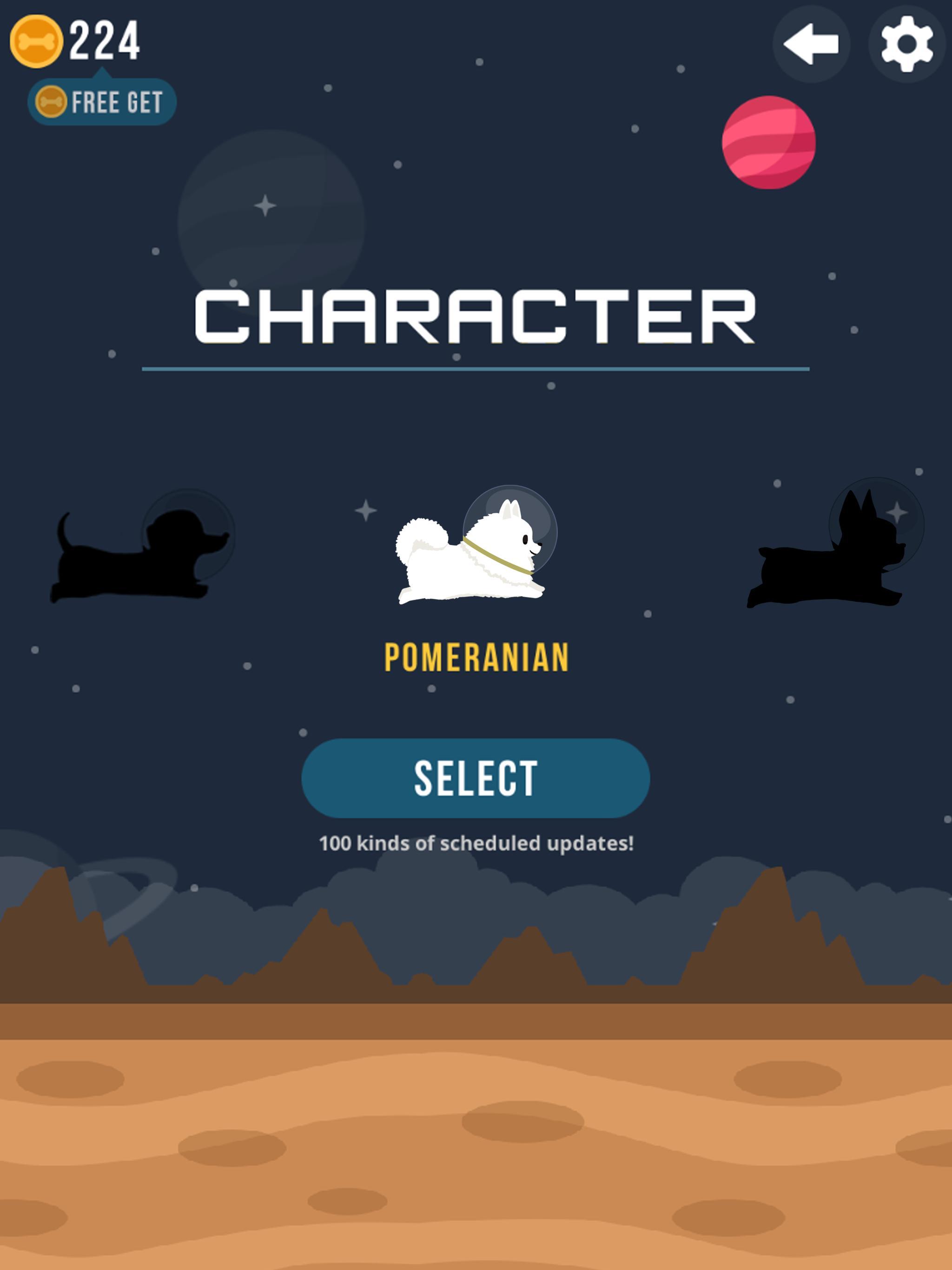 Space Corgi Dog jumping space travel game 27 Screenshot 6