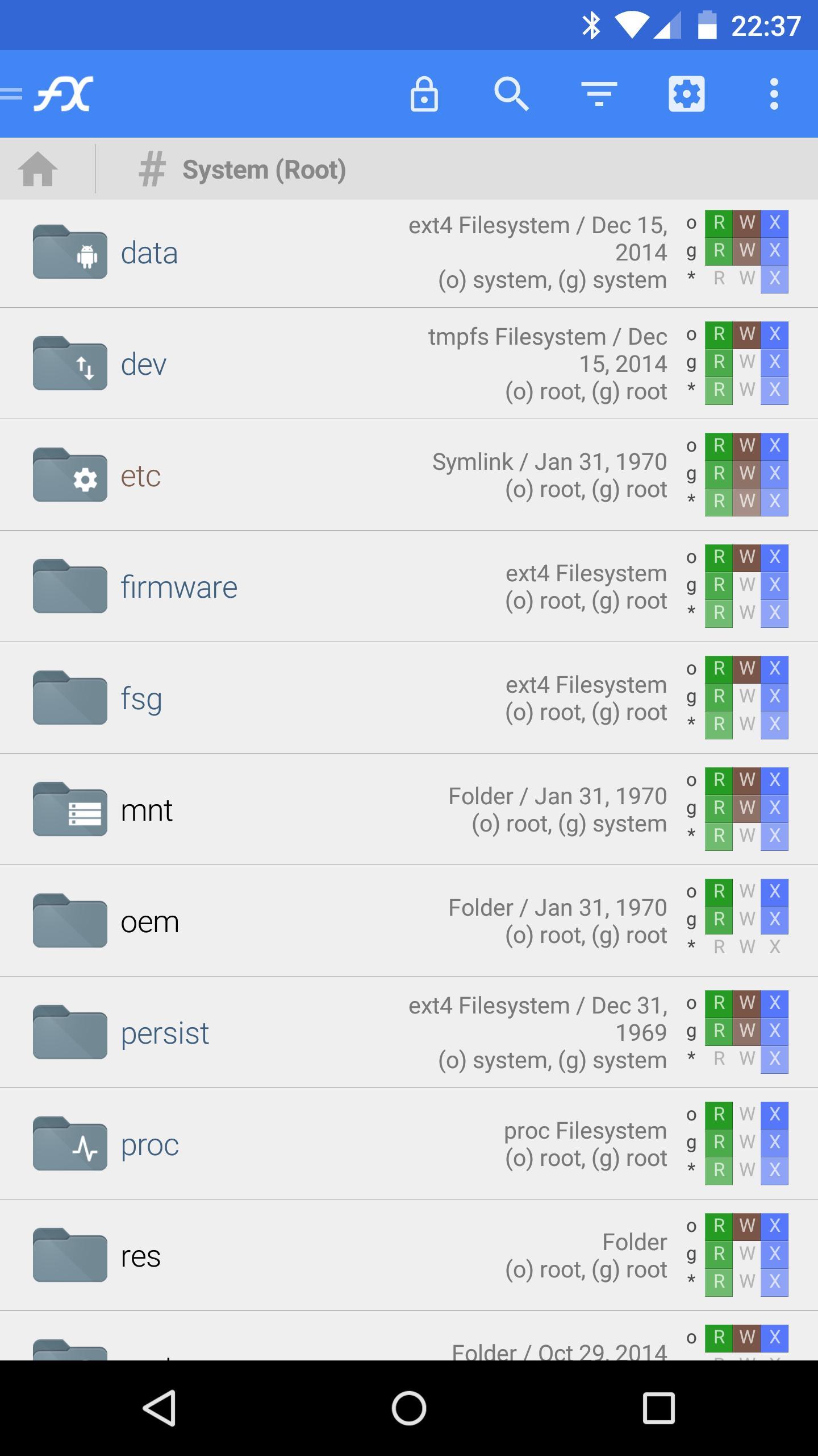 File Explorer (Root Add-On) 1.0.2 Screenshot 1