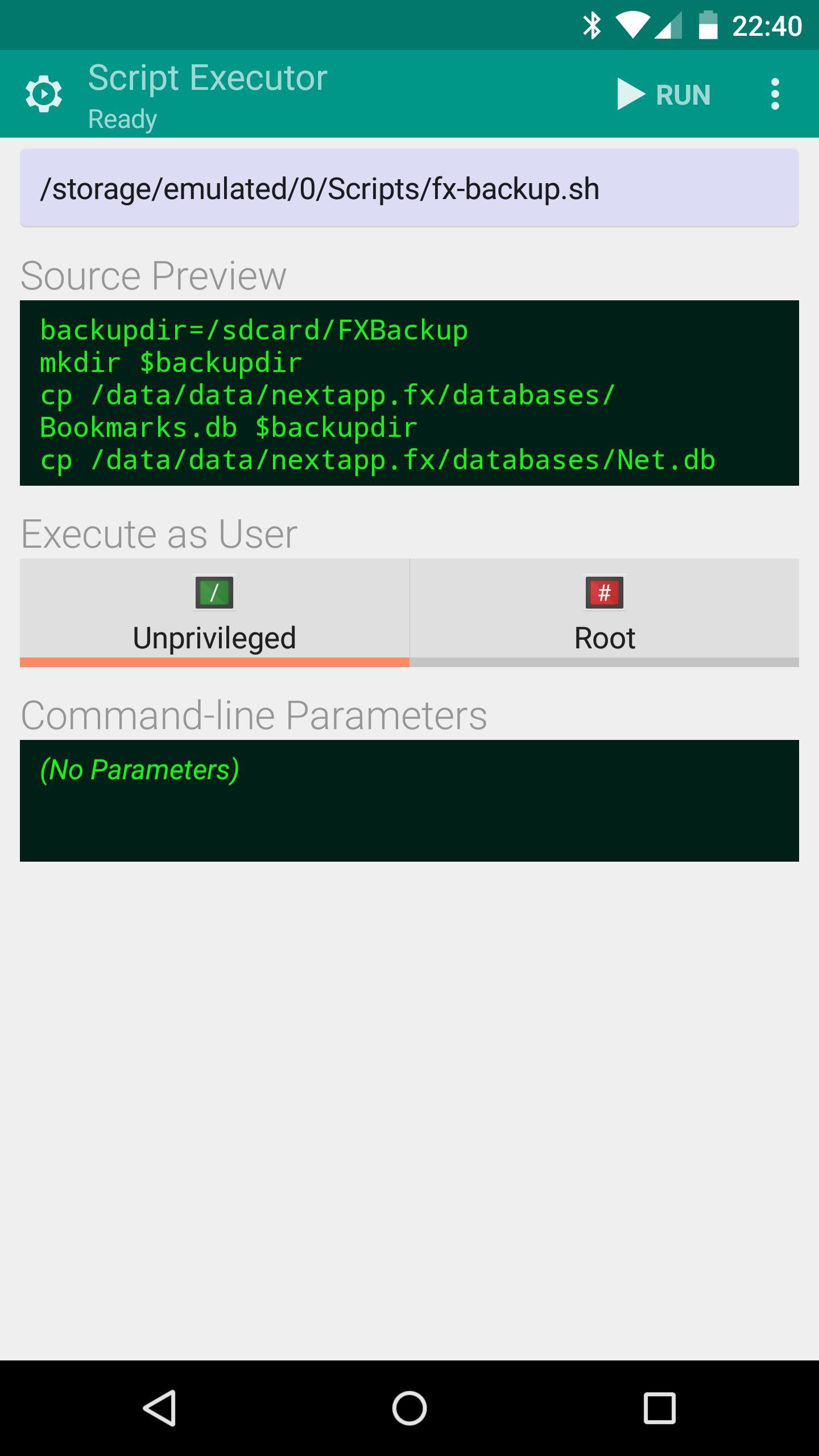 File Explorer (Root Add-On) 1.0.2 Screenshot 4