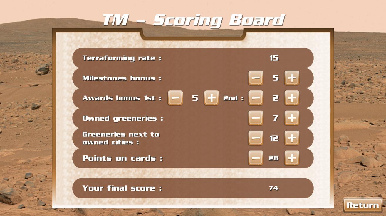 TM - Player Board Free 2.3.1 Screenshot 9