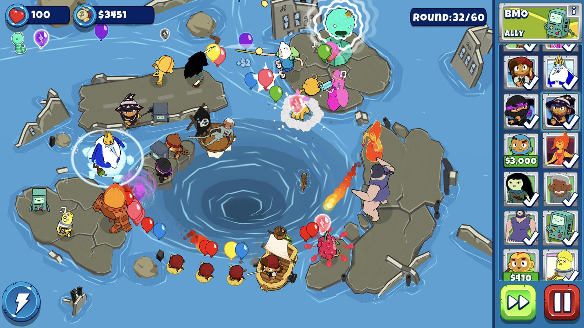 Bloons Adventure Time TD 1.7 Screenshot 2