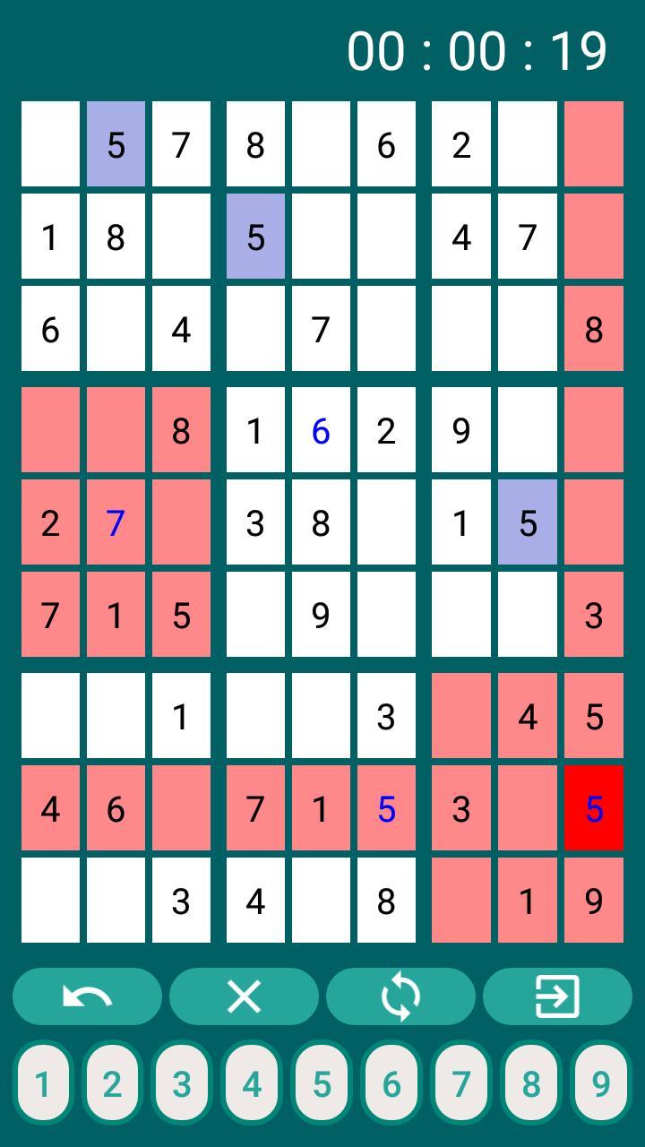 Sudoku Unlimited 1.7.1 Screenshot 3