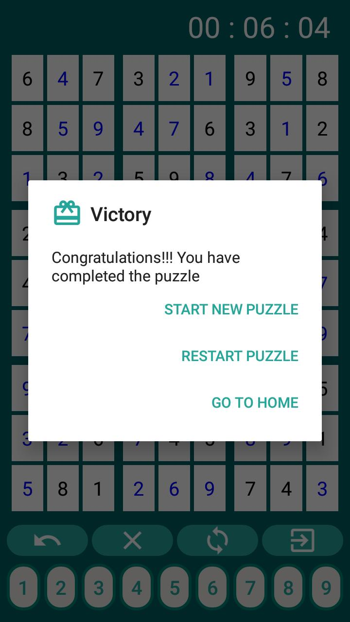 Sudoku Unlimited 1.7.1 Screenshot 4