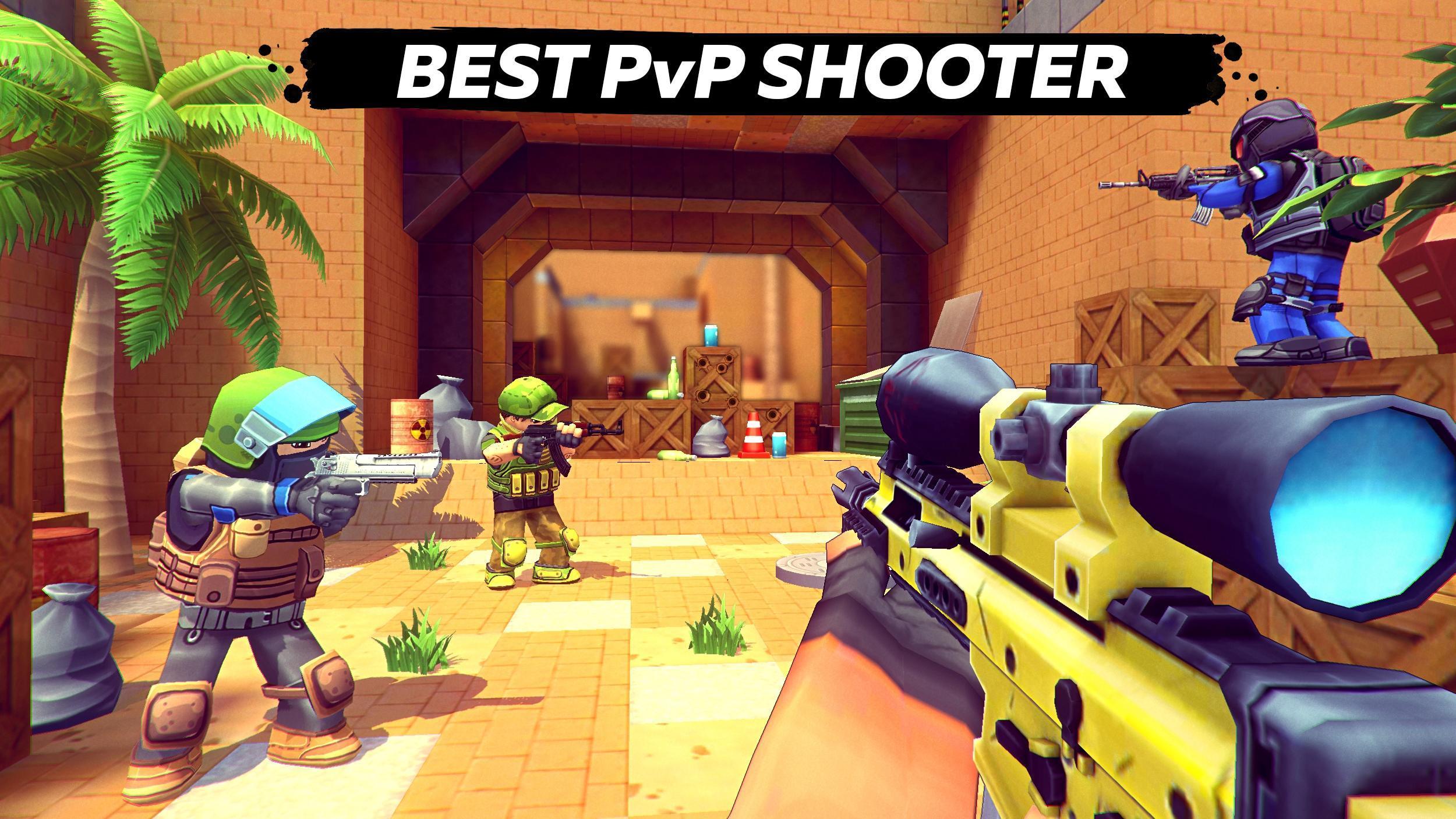 KUBOOM 3D: FPS Shooter 3.04 Screenshot 1