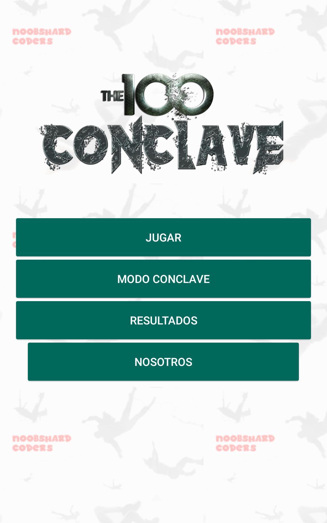 Los 100 - Conclave 1.6 Screenshot 1