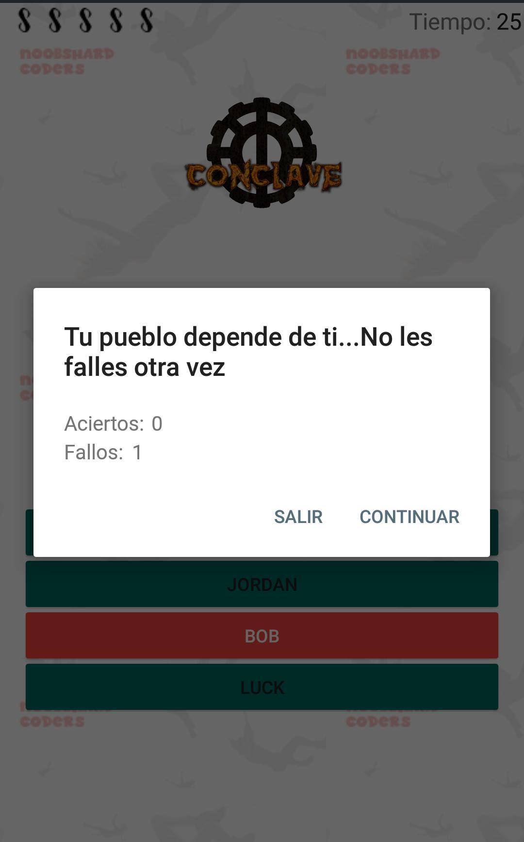 Los 100 - Conclave 1.6 Screenshot 5