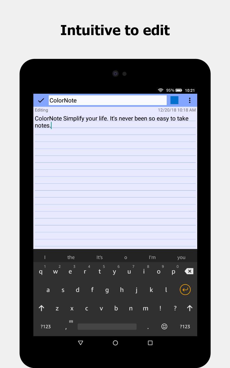 ColorNote Notepad Notes 4.1.9 Screenshot 11