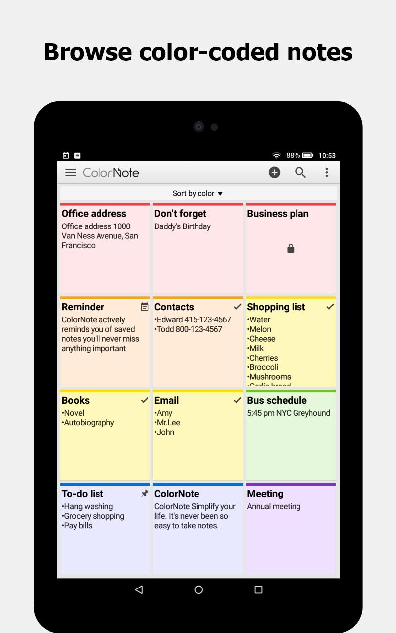 ColorNote Notepad Notes 4.1.9 Screenshot 15