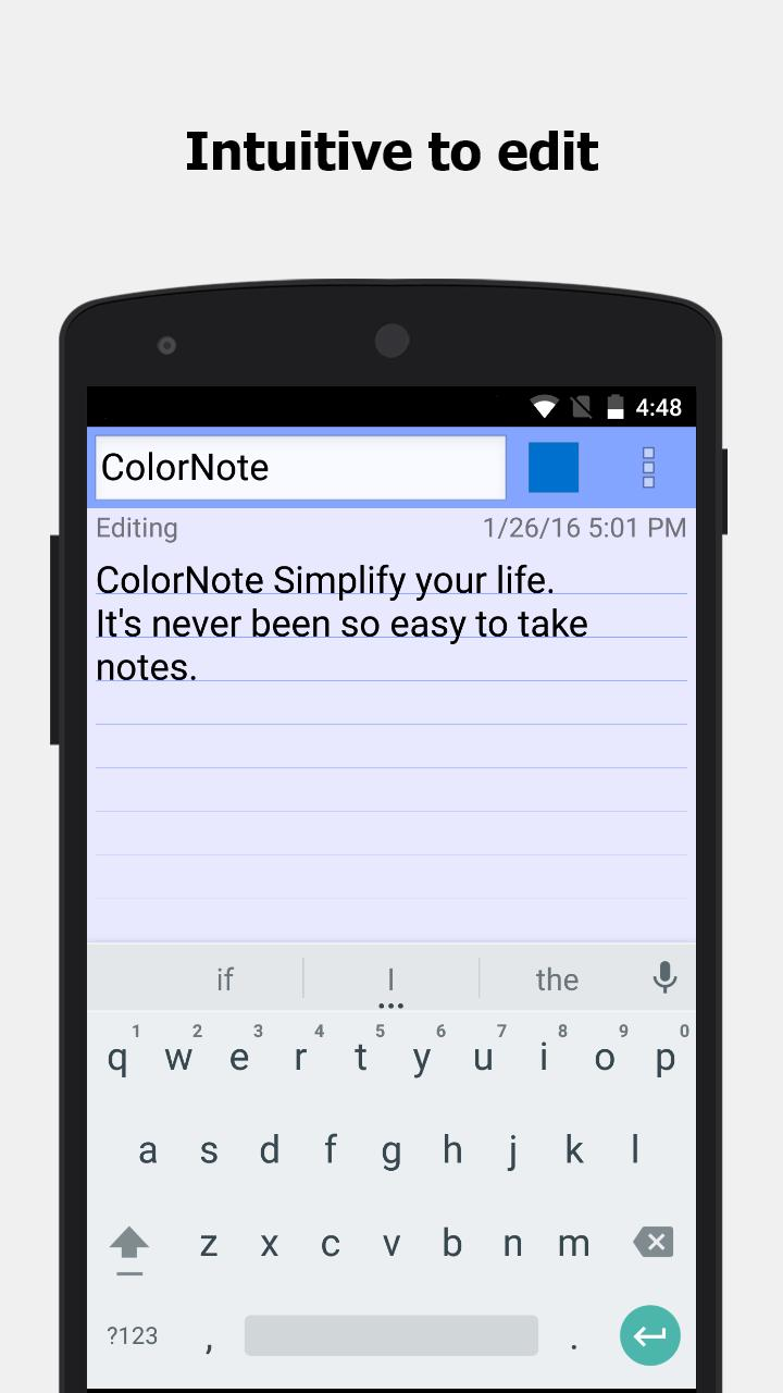 ColorNote Notepad Notes 4.1.9 Screenshot 3