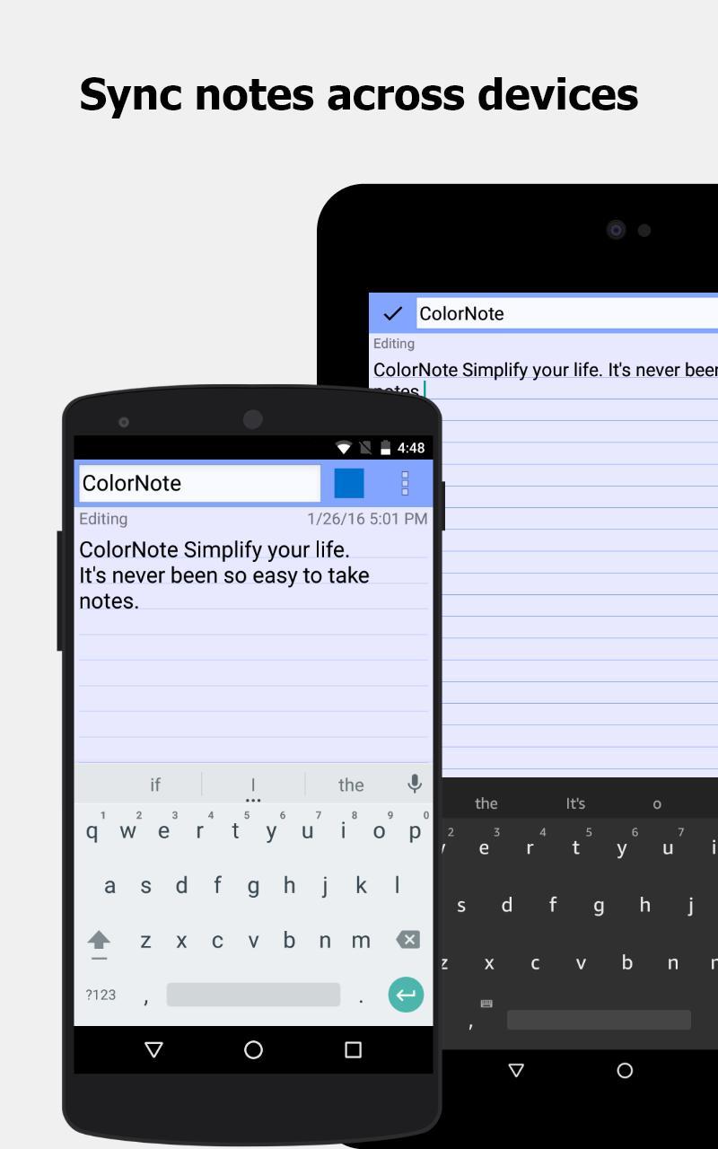 ColorNote Notepad Notes 4.1.9 Screenshot 8