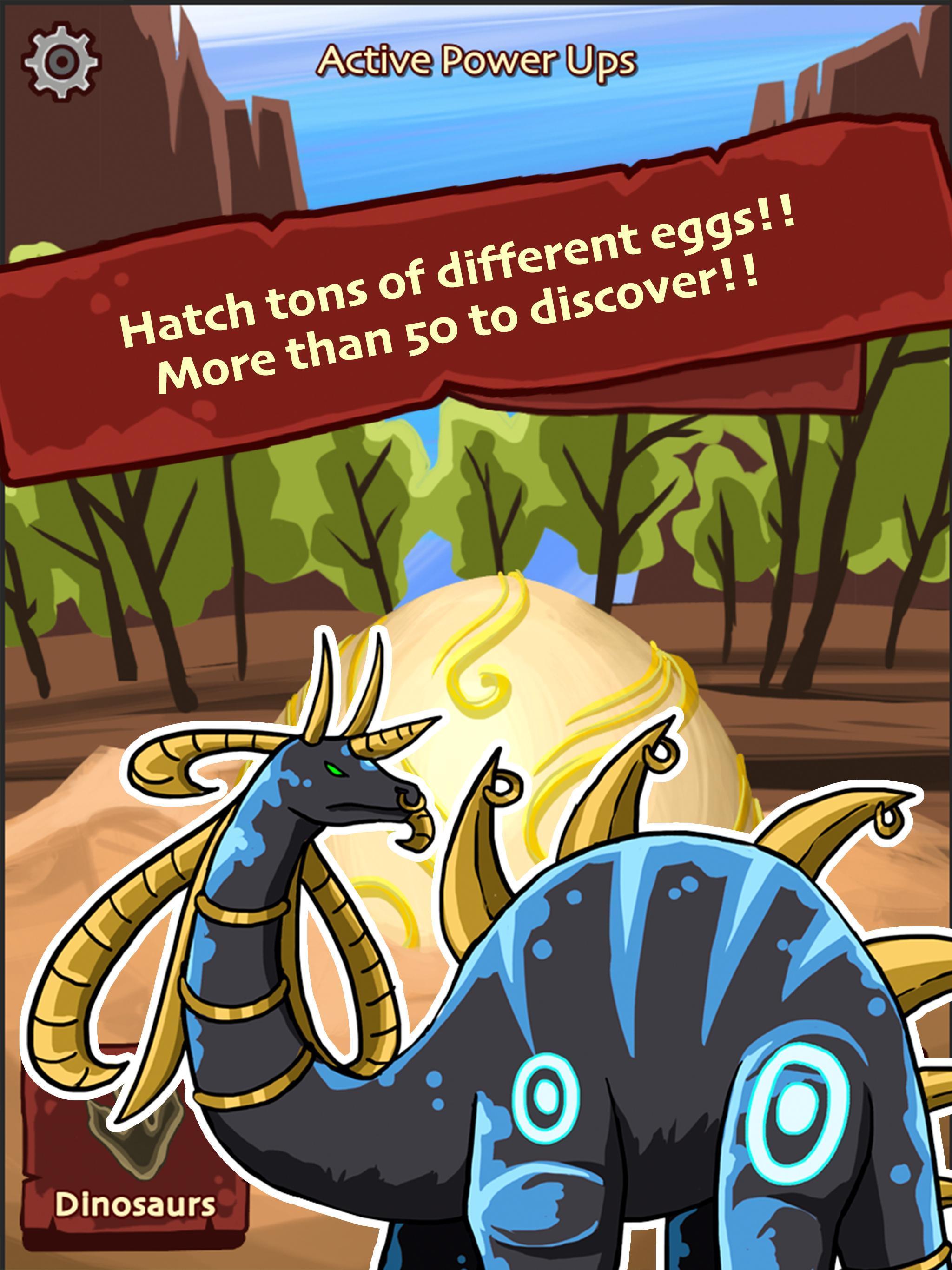 Hatch Dinosaur Eggs - Jurassic World Clicker Games 1.0.7 Screenshot 12