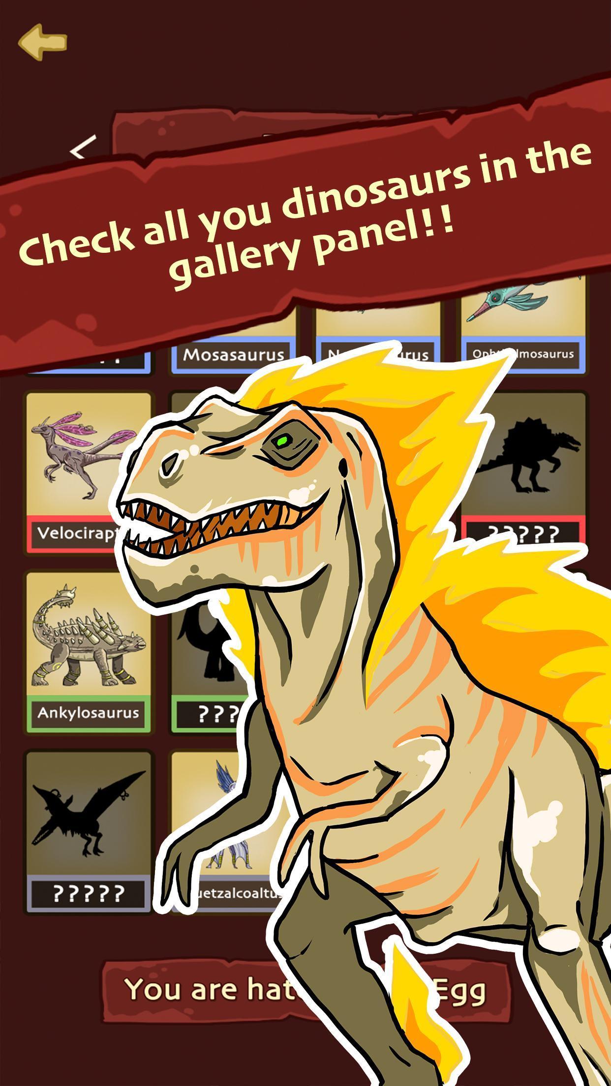 Hatch Dinosaur Eggs - Jurassic World Clicker Games 1.0.7 Screenshot 5