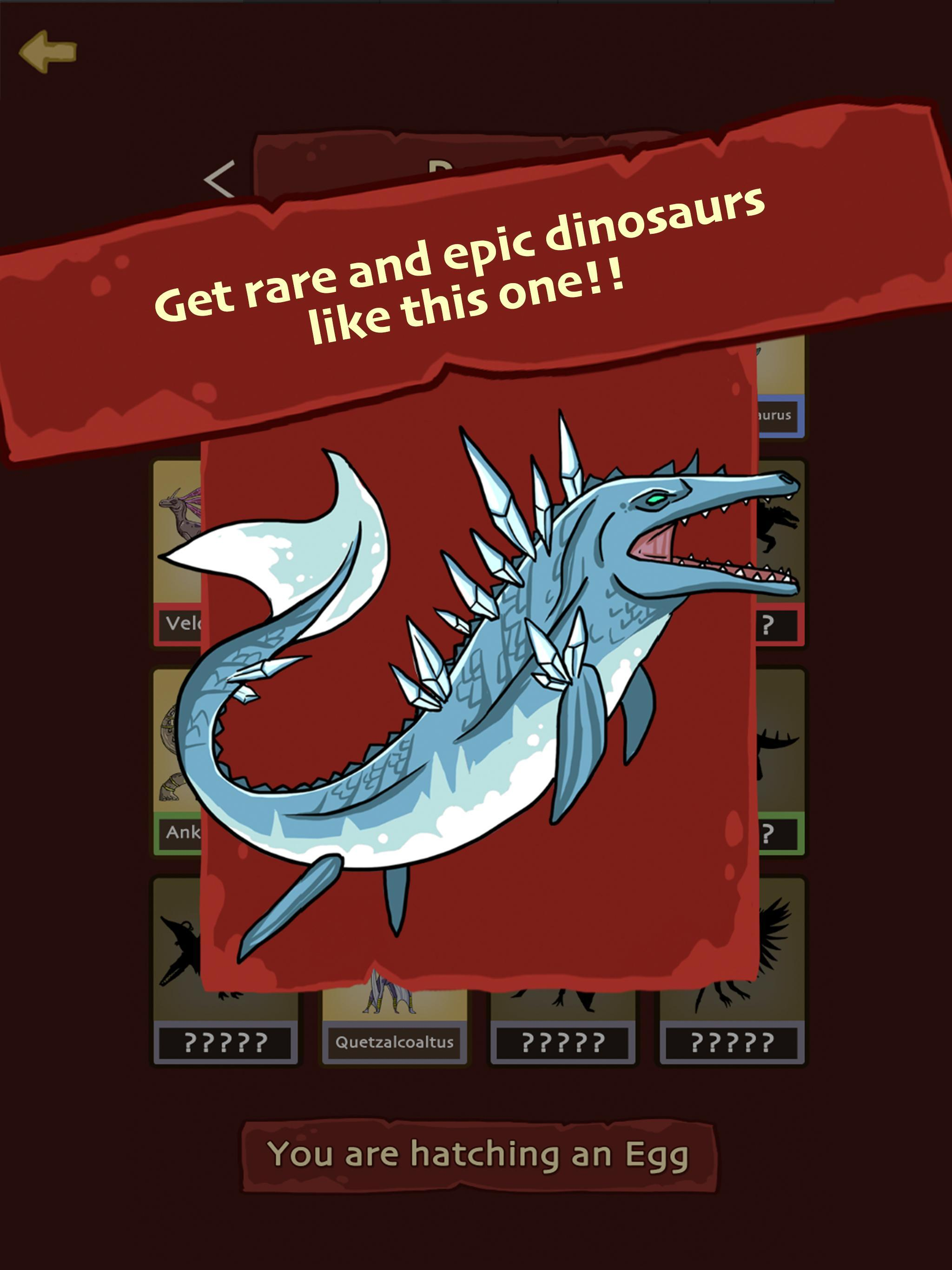 Hatch Dinosaur Eggs - Jurassic World Clicker Games 1.0.7 Screenshot 8