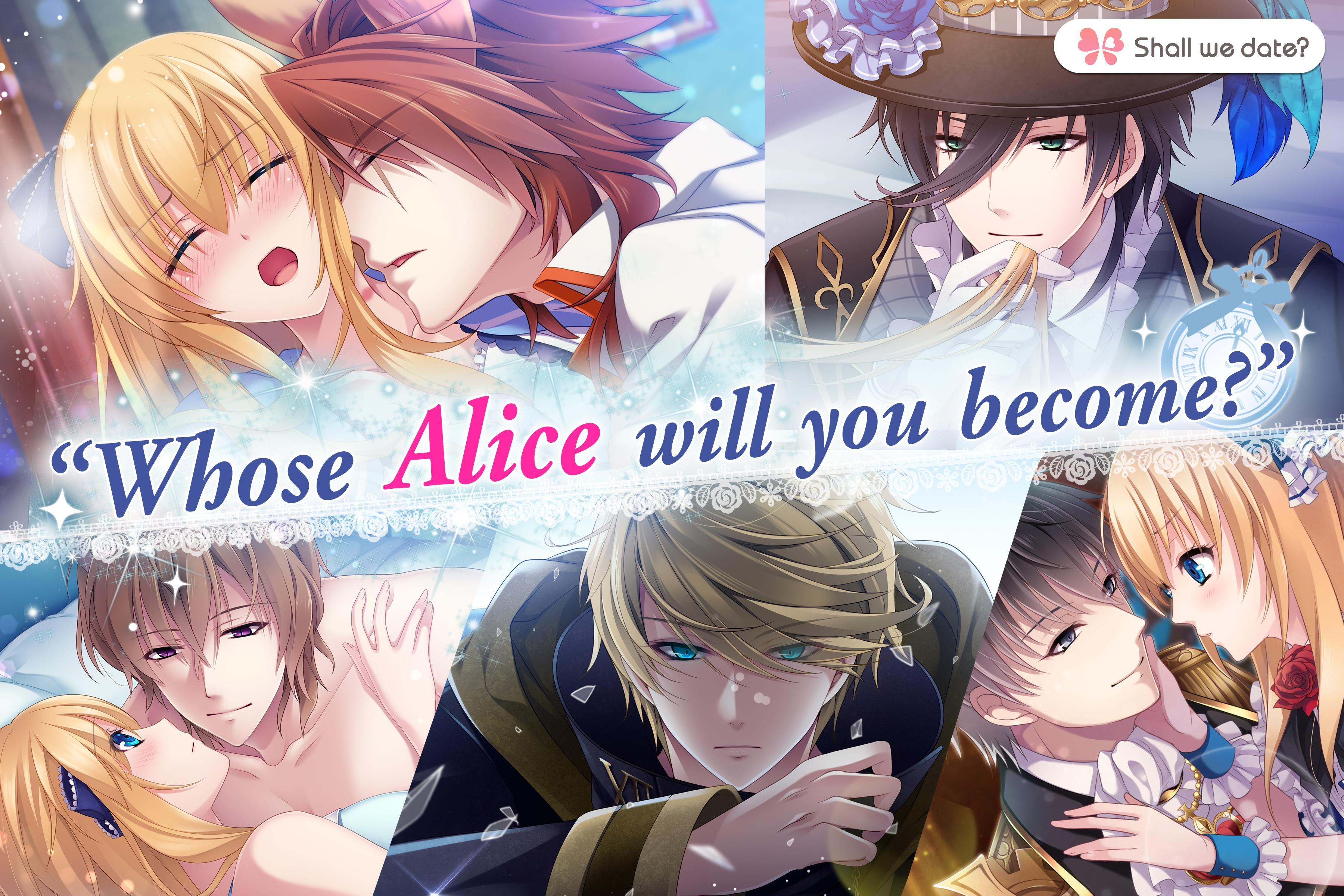 Lost Alice - otome game/dating sim #shall we date 1.5.1 Screenshot 1