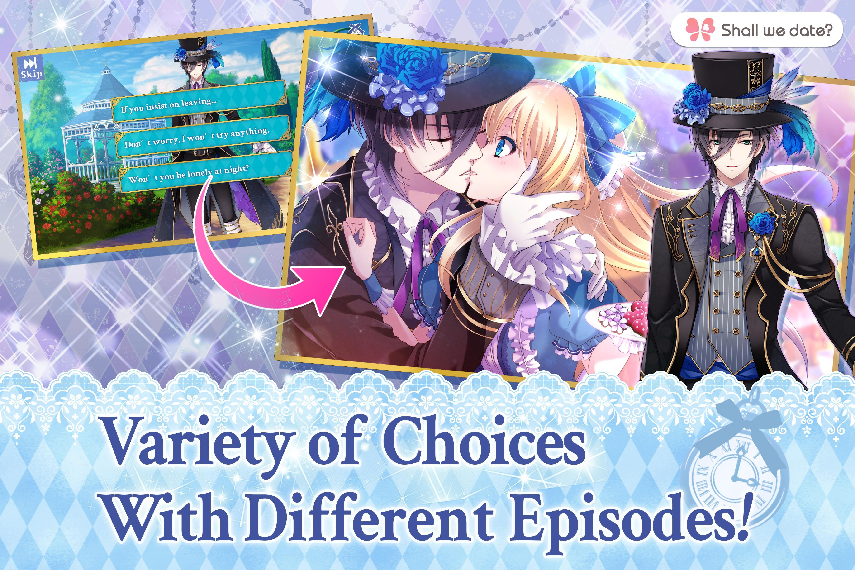 Lost Alice - otome game/dating sim #shall we date 1.5.1 Screenshot 3