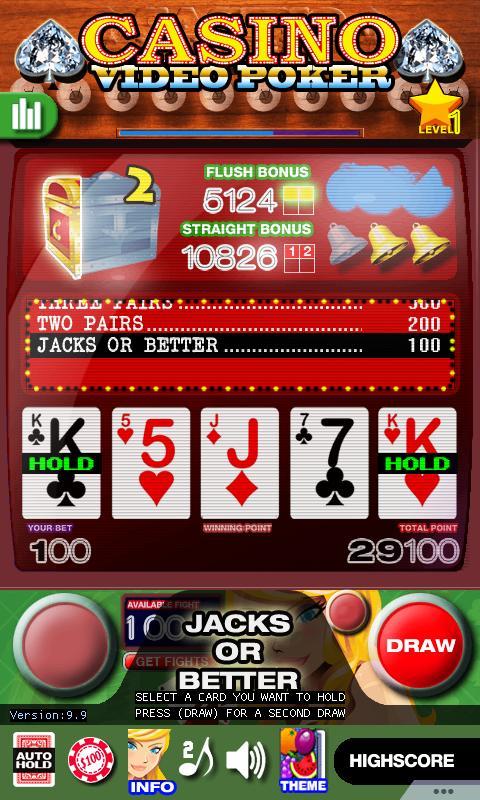Casino Video Poker 15.0 Screenshot 1